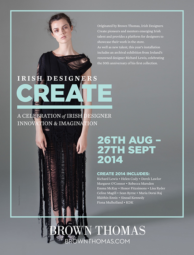 Cover image: Irish Designers Create (2014)