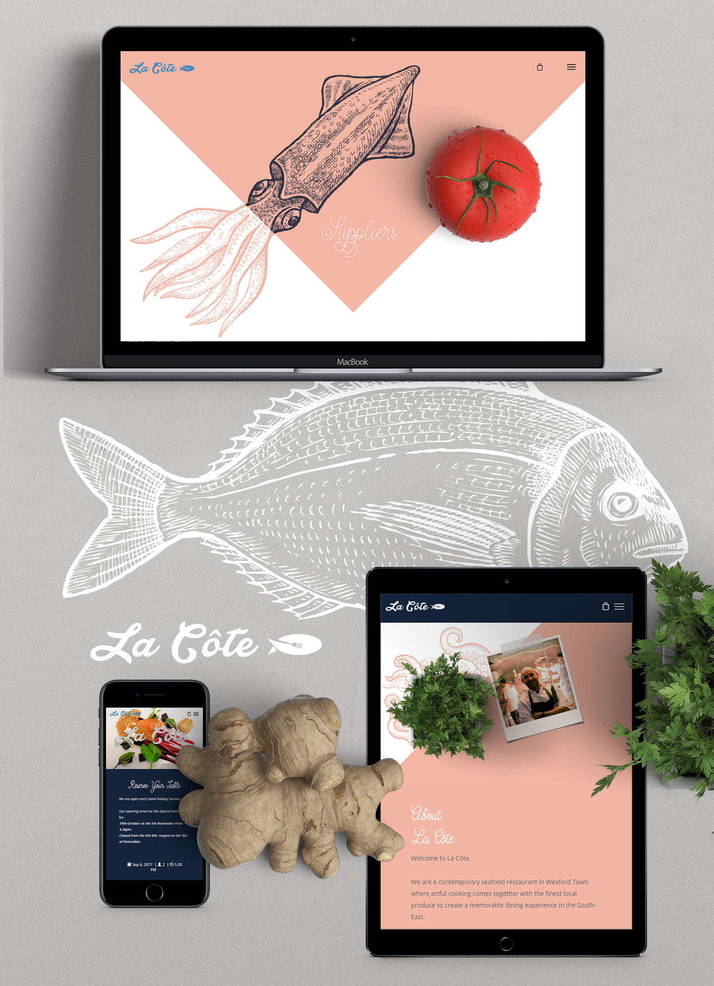 Cover image: La Côte Website Design