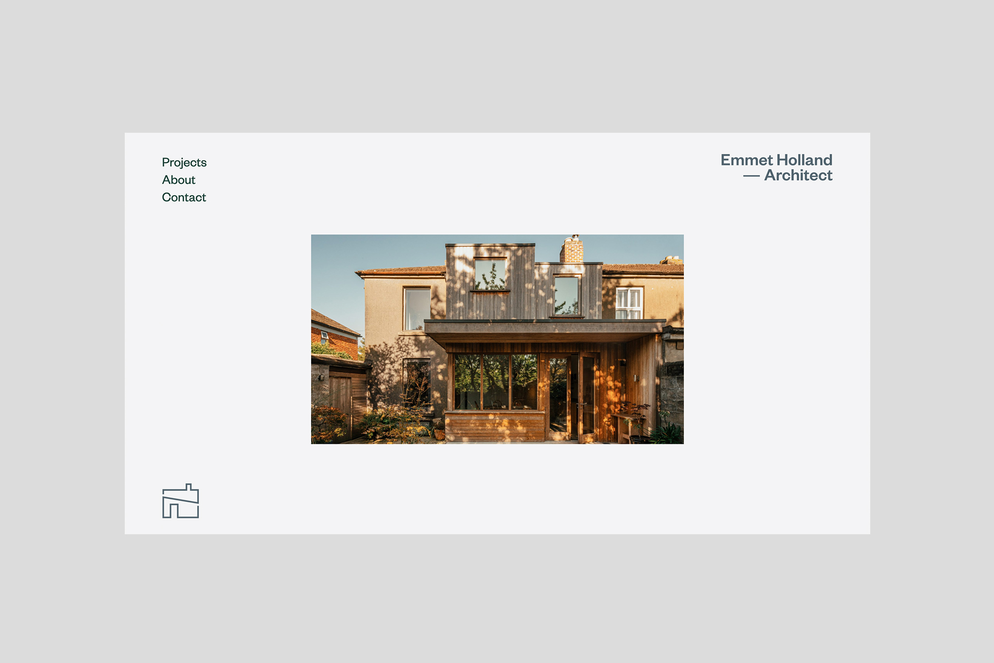 Cover image: Emmet Holland Architect – Website