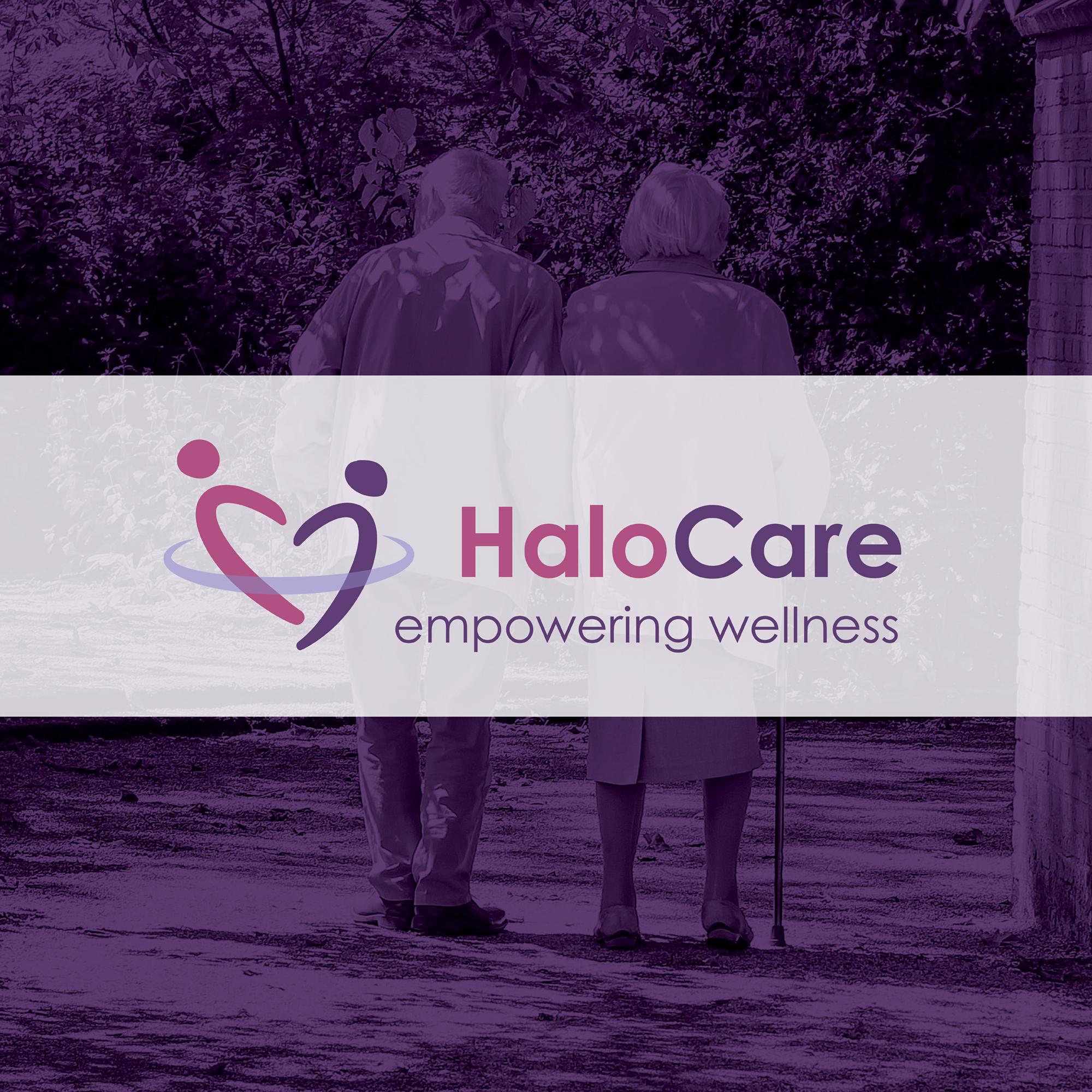 Cover image: HaloCare – Brand Identity