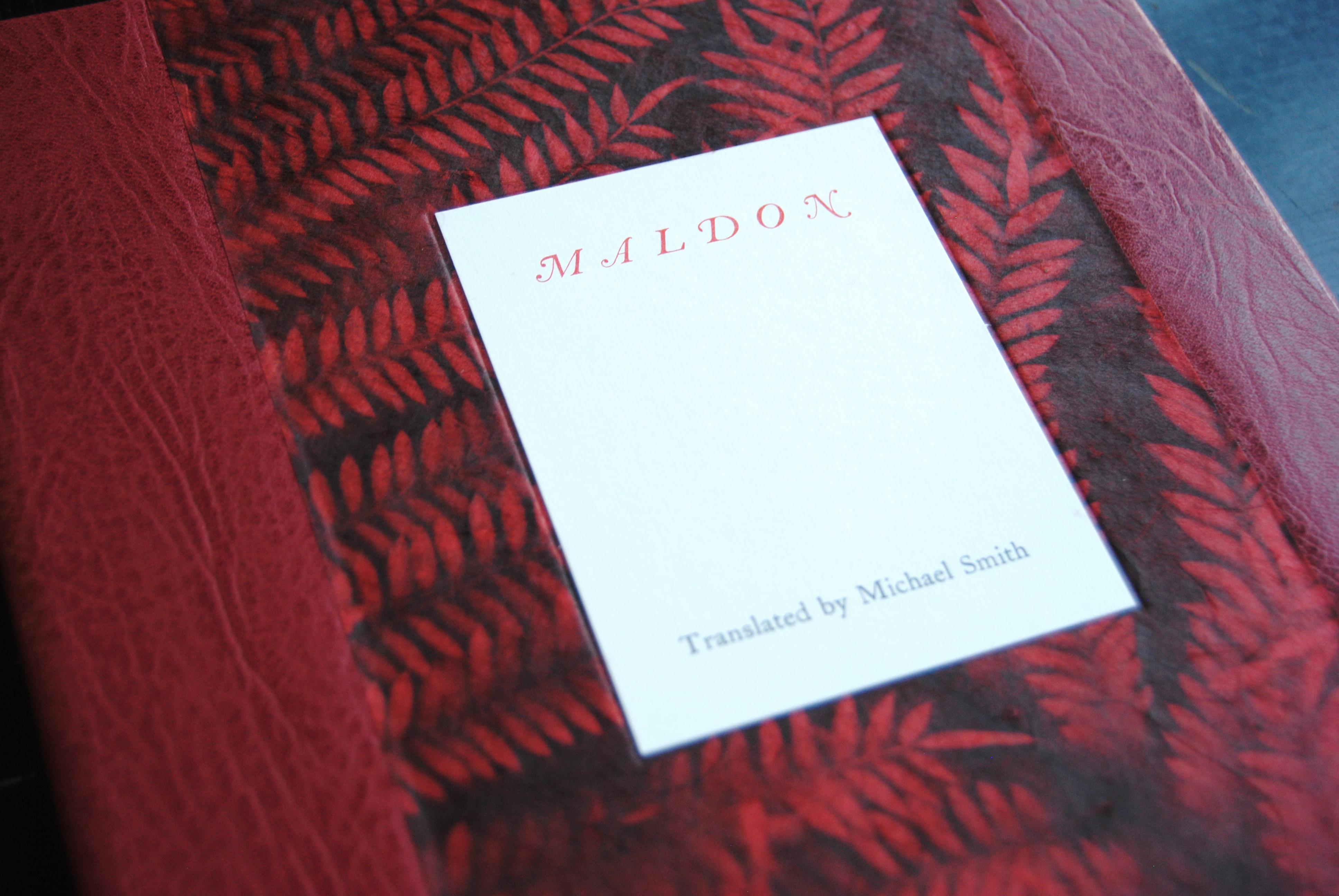 Cover image: Maldon