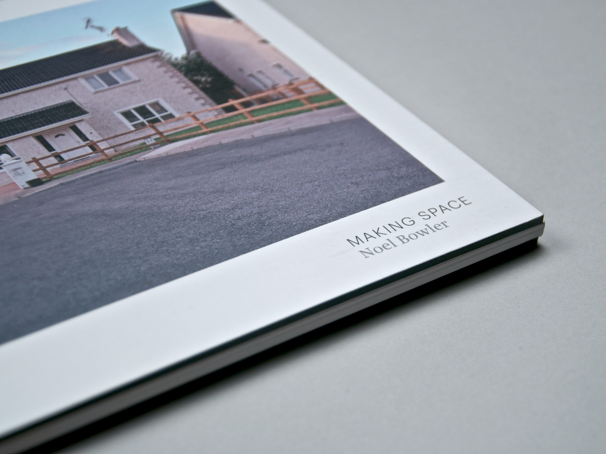 Cover image: Noel Bowler – Making Space (2011)