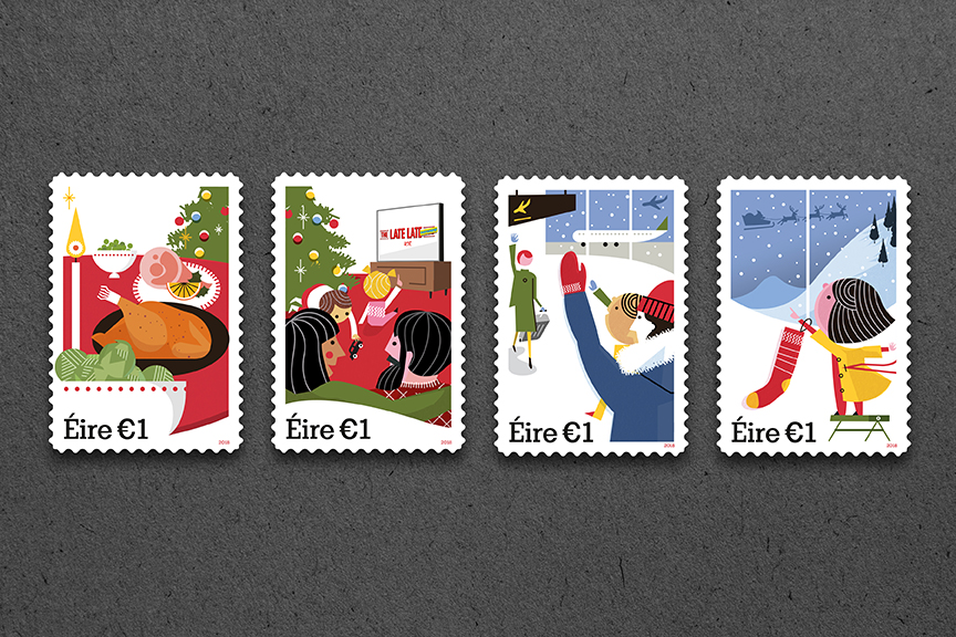 Cover image: Christmas Stamp Series
