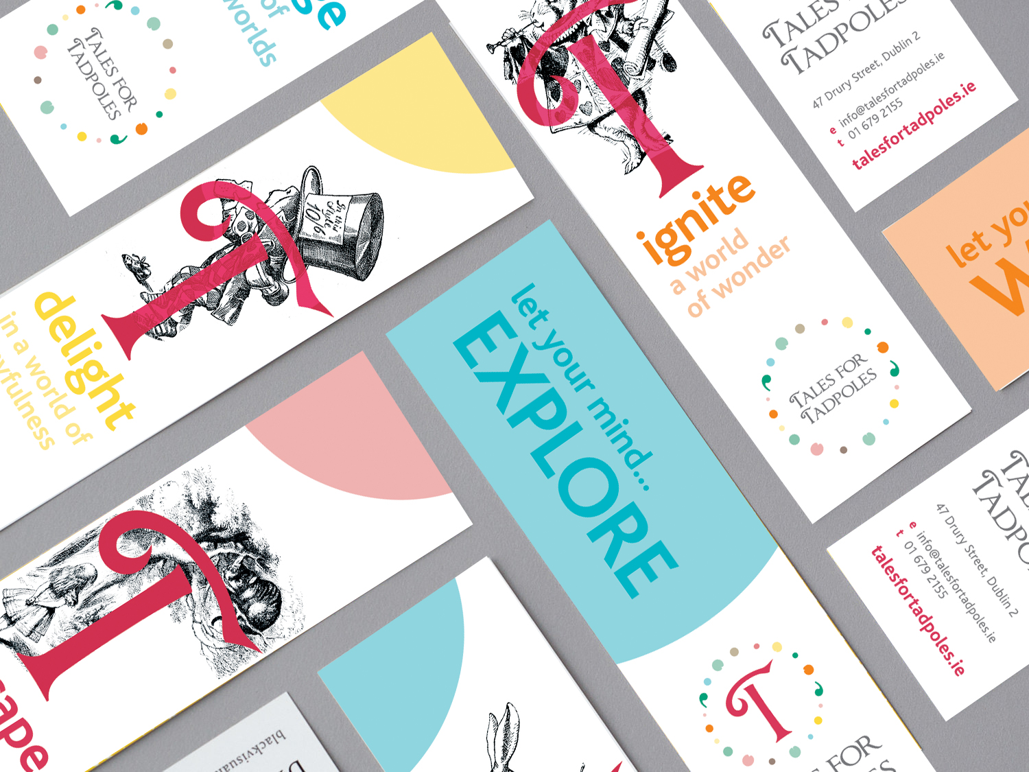 Cover image: Tales for Tadpoles Bookmarks Set