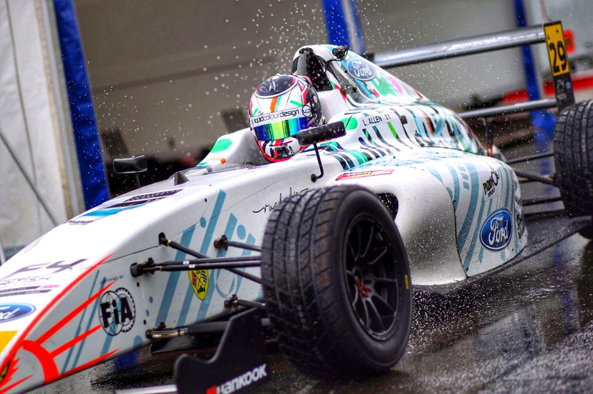 Cover image: Formula 4 Livery design