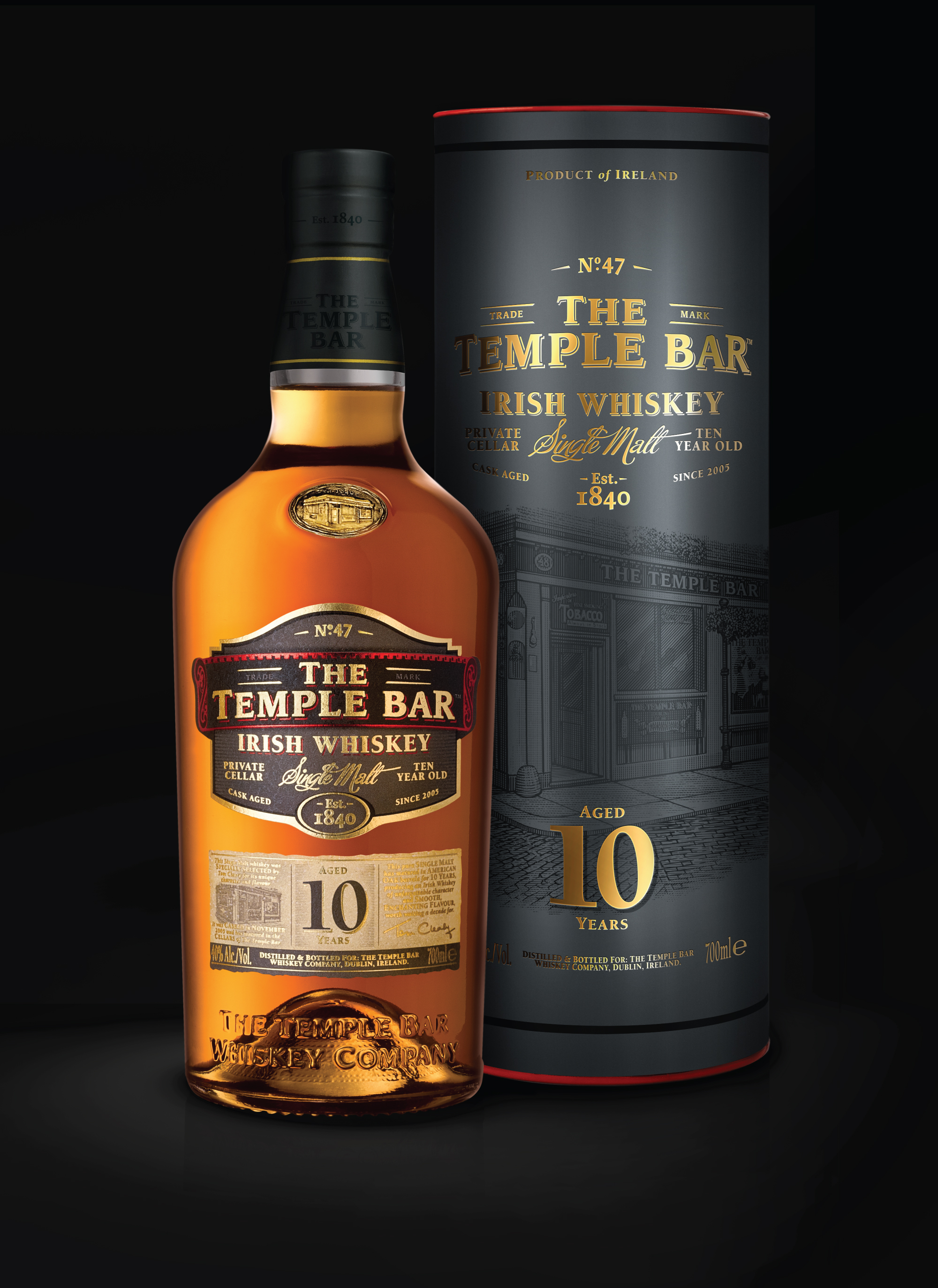 Cover image: The Temple Bar Whiskey