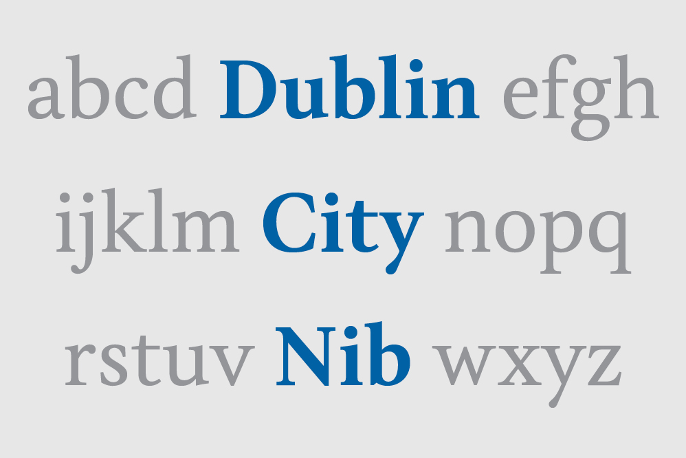 Cover image: Dublin City Nib