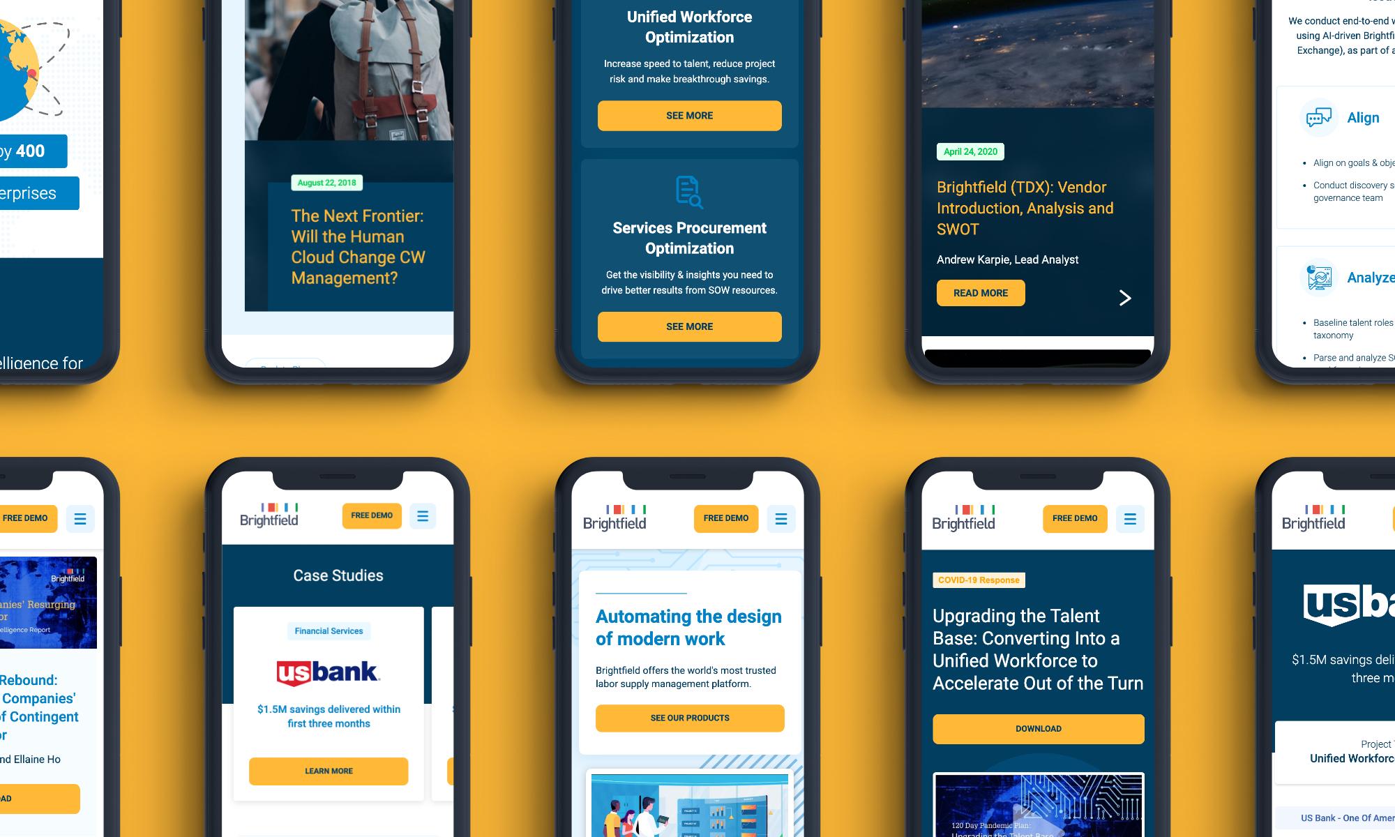 Cover image: Brightfield – Website Design Refresh