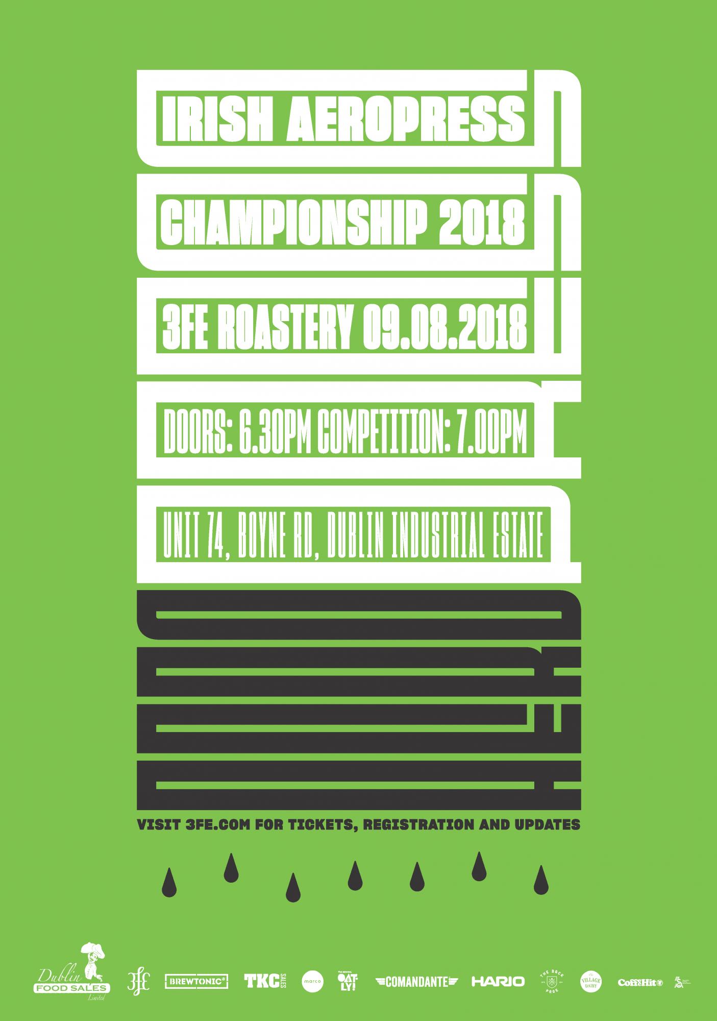Cover image: 3fe Aeropress Championship