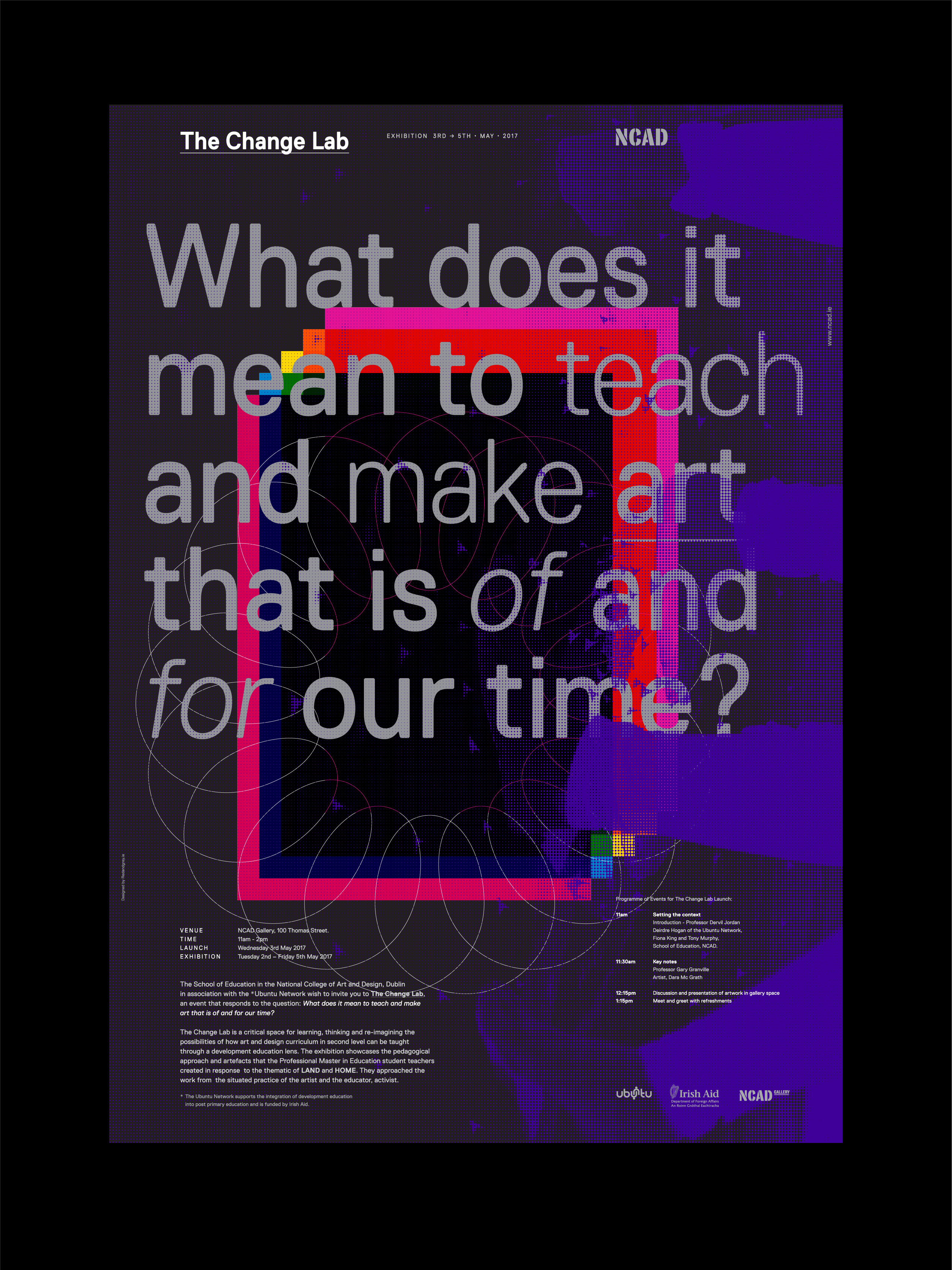 Cover image: NCAD, Change Lab, Poster