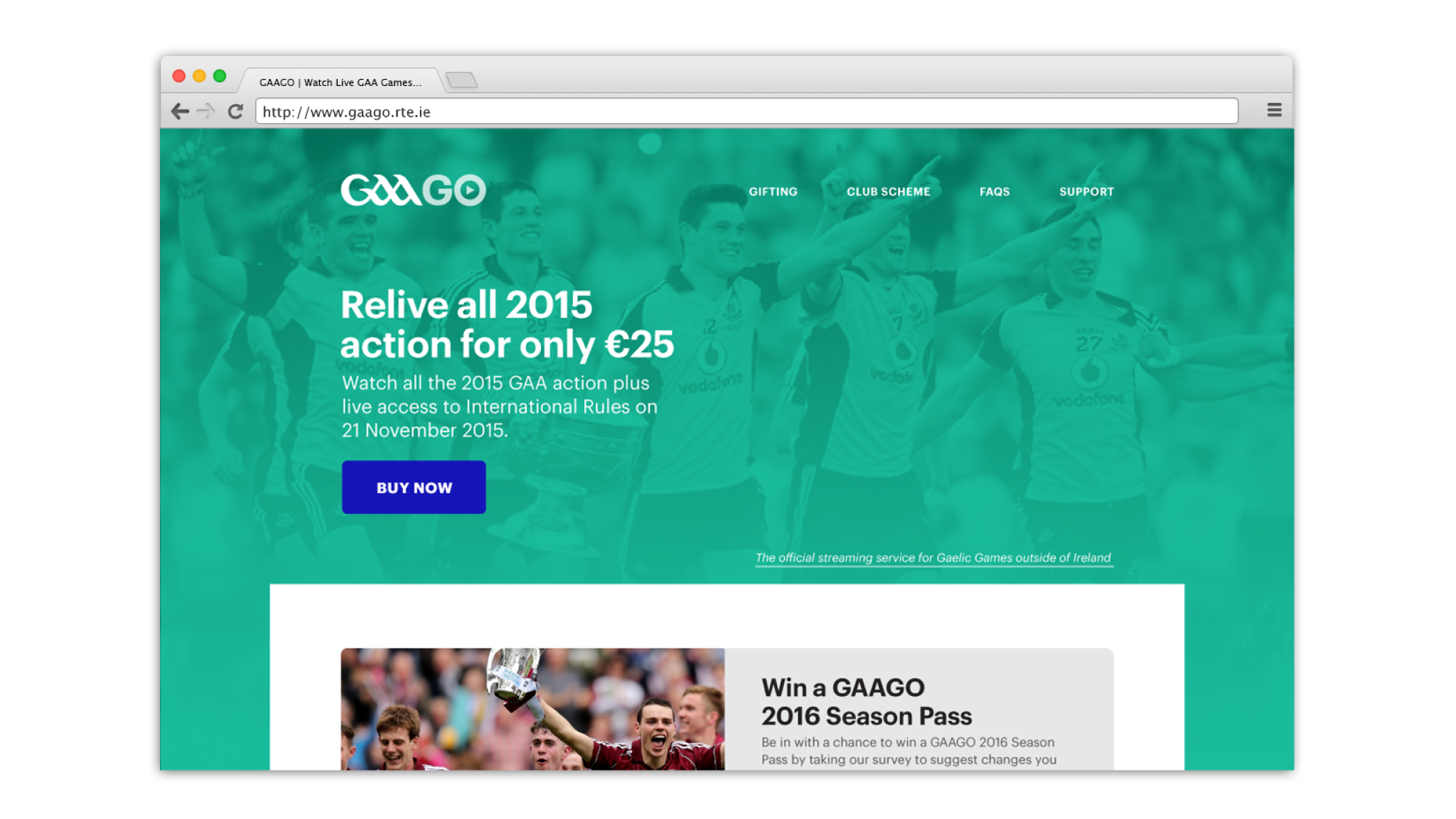 Cover image: GAAGO (2015)