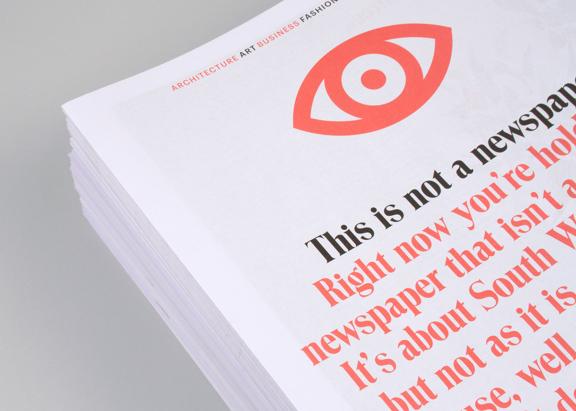 Cover image: This Is Not A Newspaper