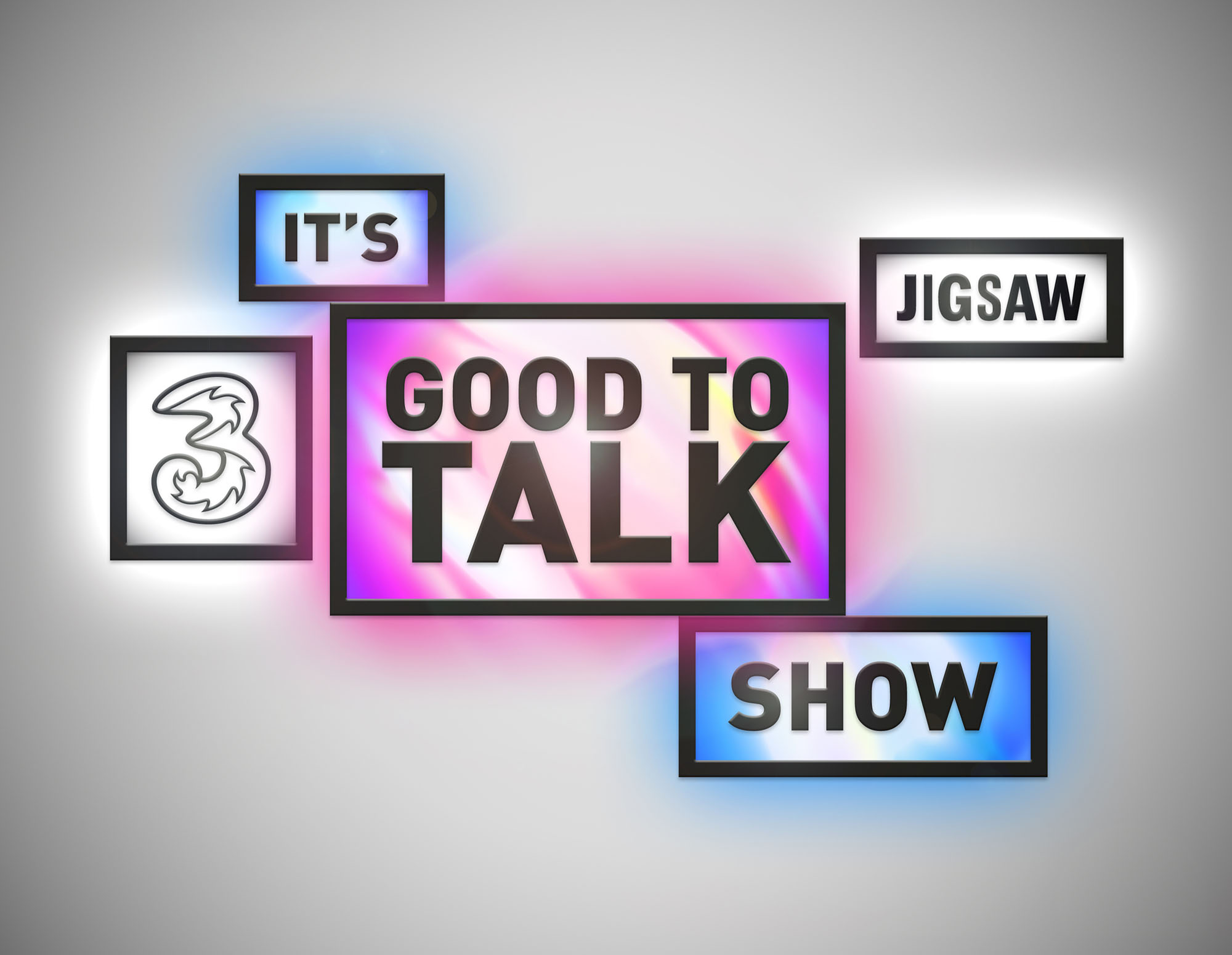 Cover image: Three & Jigsaw — It's Good to Talk Show