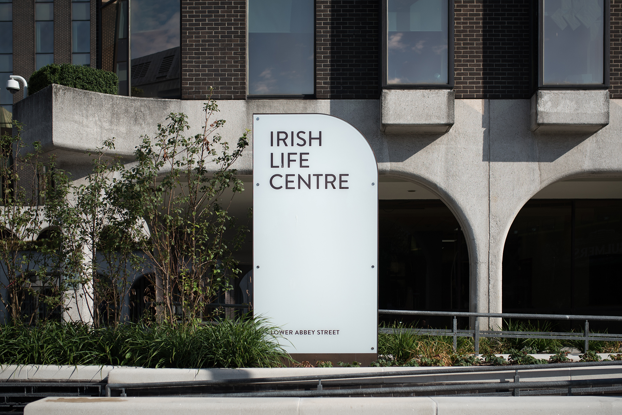 Cover image: Irish Life Centre Wayfinding and Signage