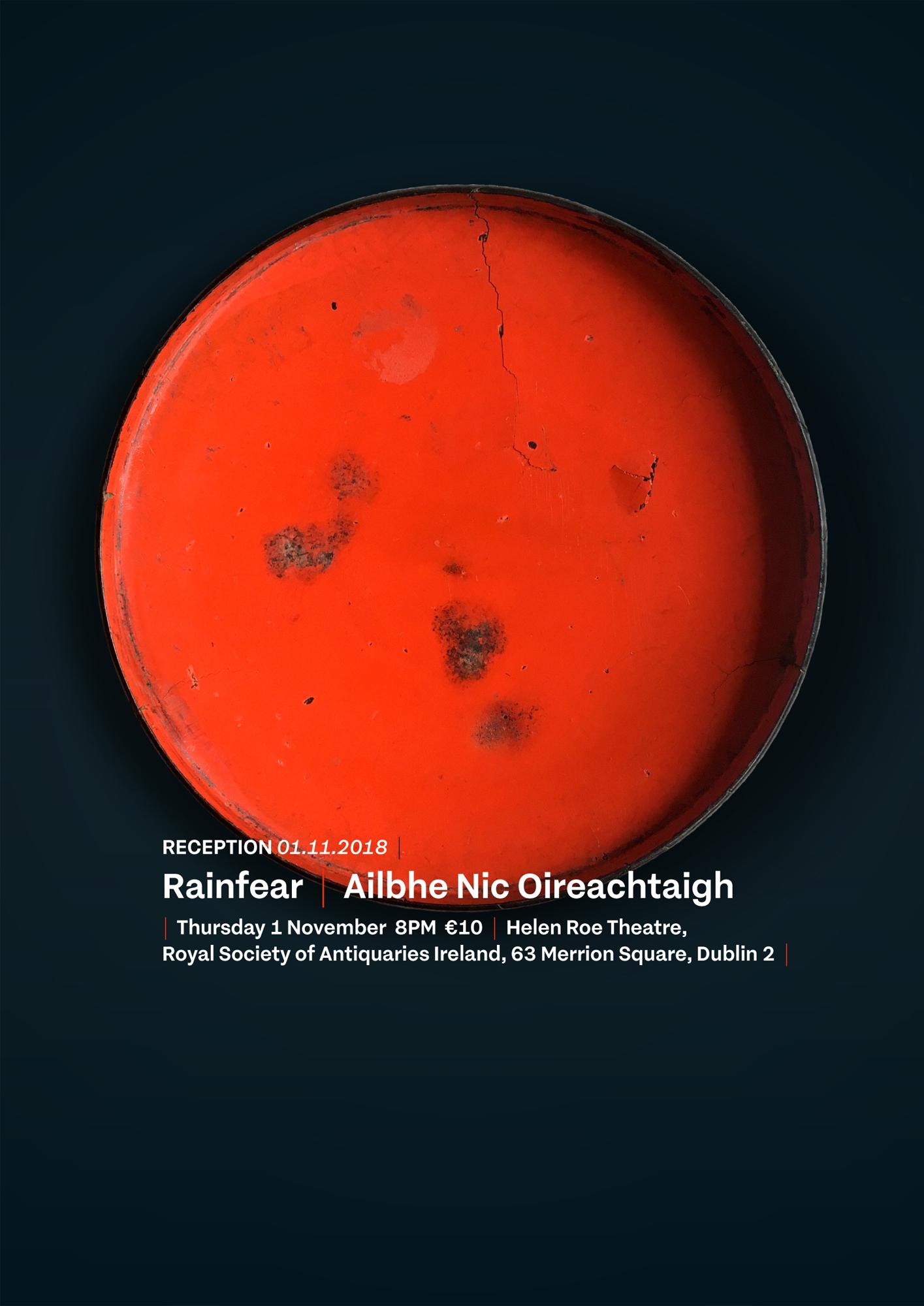 Cover image: Rainfear | Ailbhe Nic Oireachtaigh