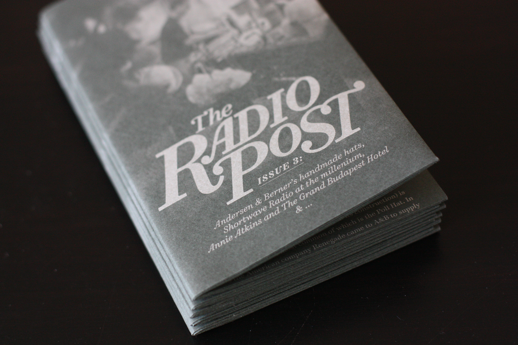 Cover image: The Radio Post [issue 3]