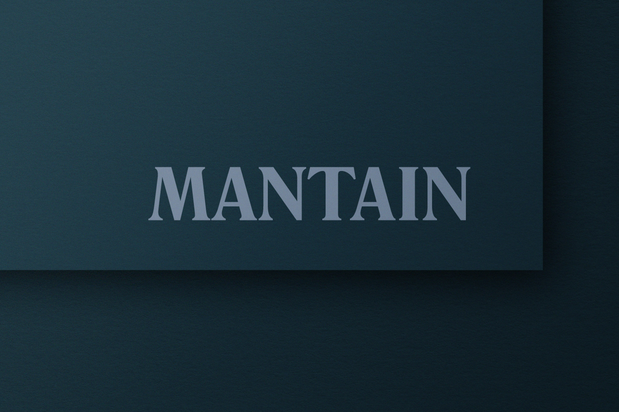 Cover image: Mantain - Brand Identity
