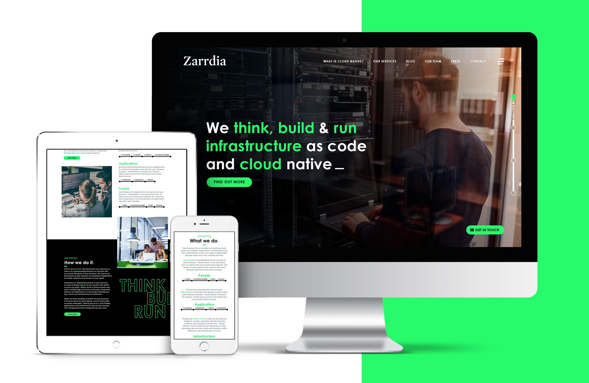 Cover image: Zarrdia Website