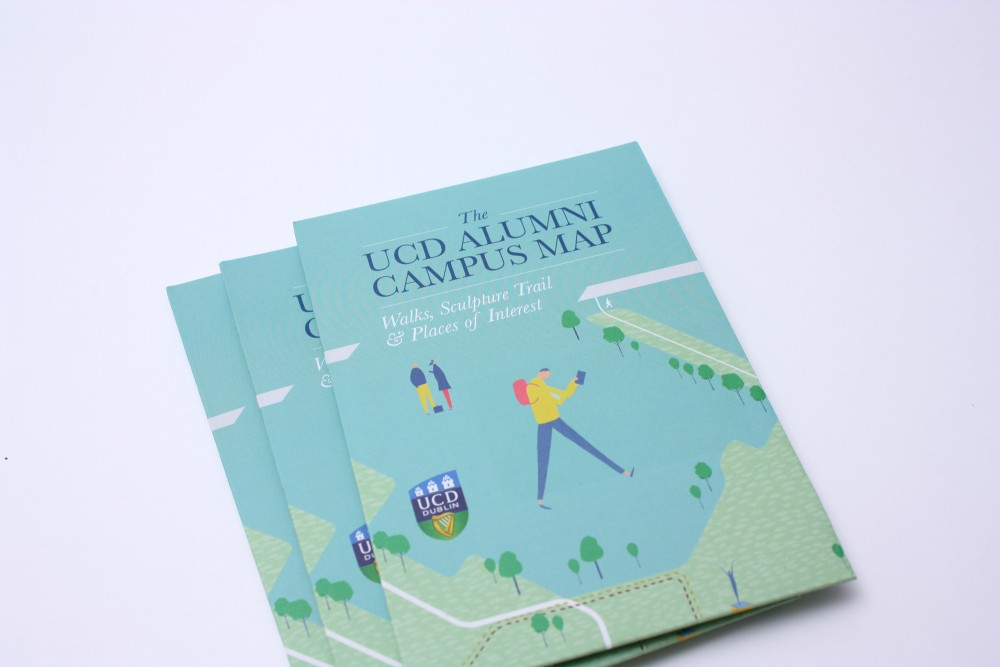 Cover image: UCD Campus Walking Trails Map (2011)
