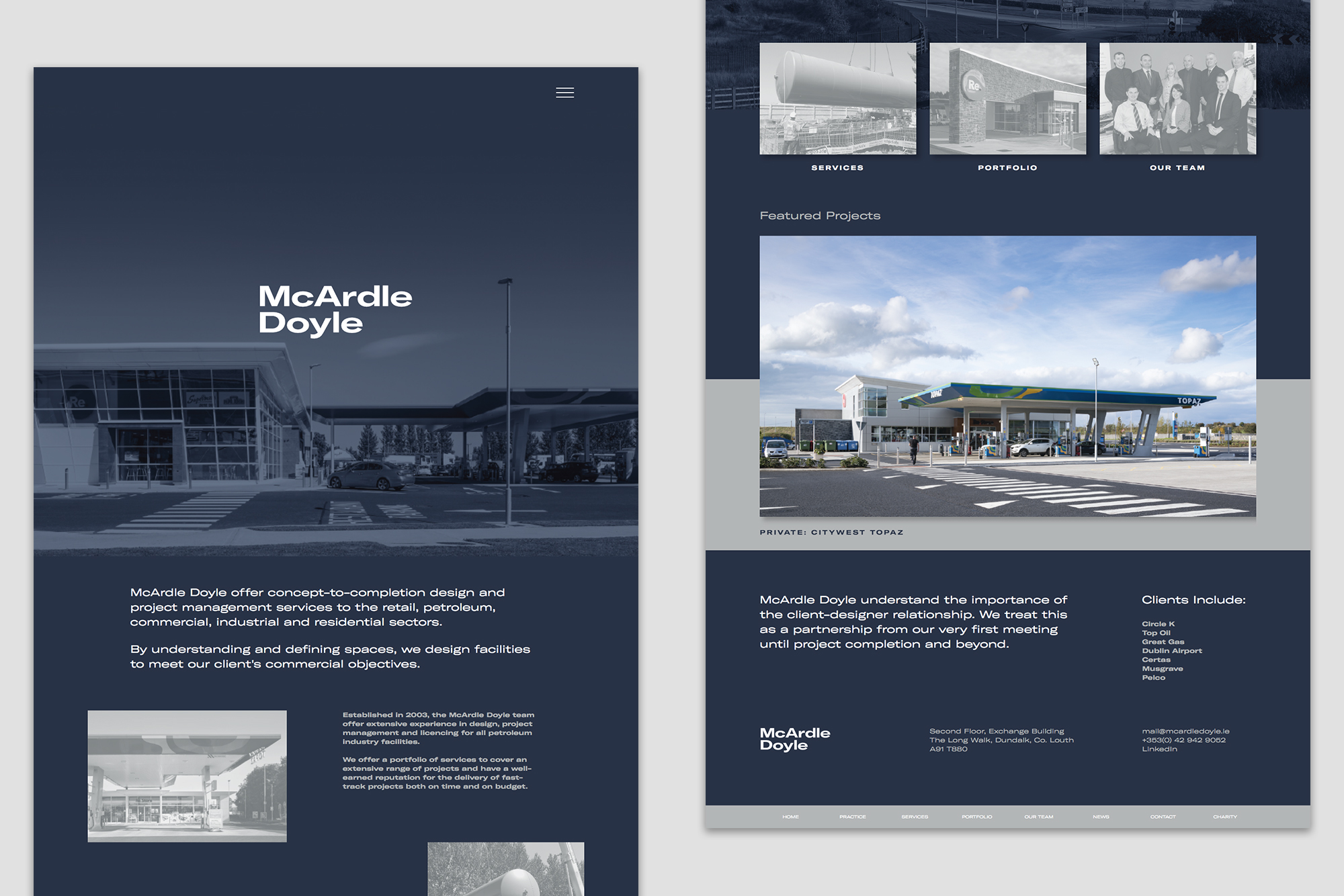 Cover image: McArdle Doyle – Website