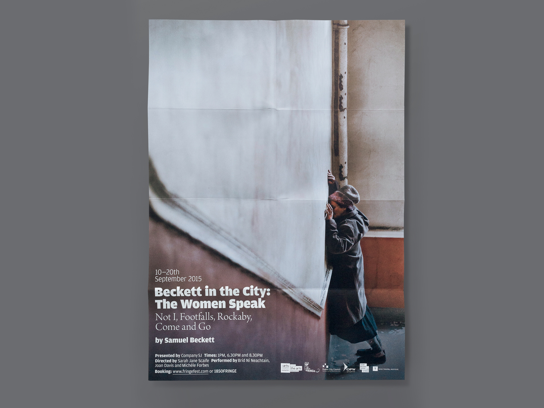 Cover image: Beckett in the City: The Women speak (2015)
