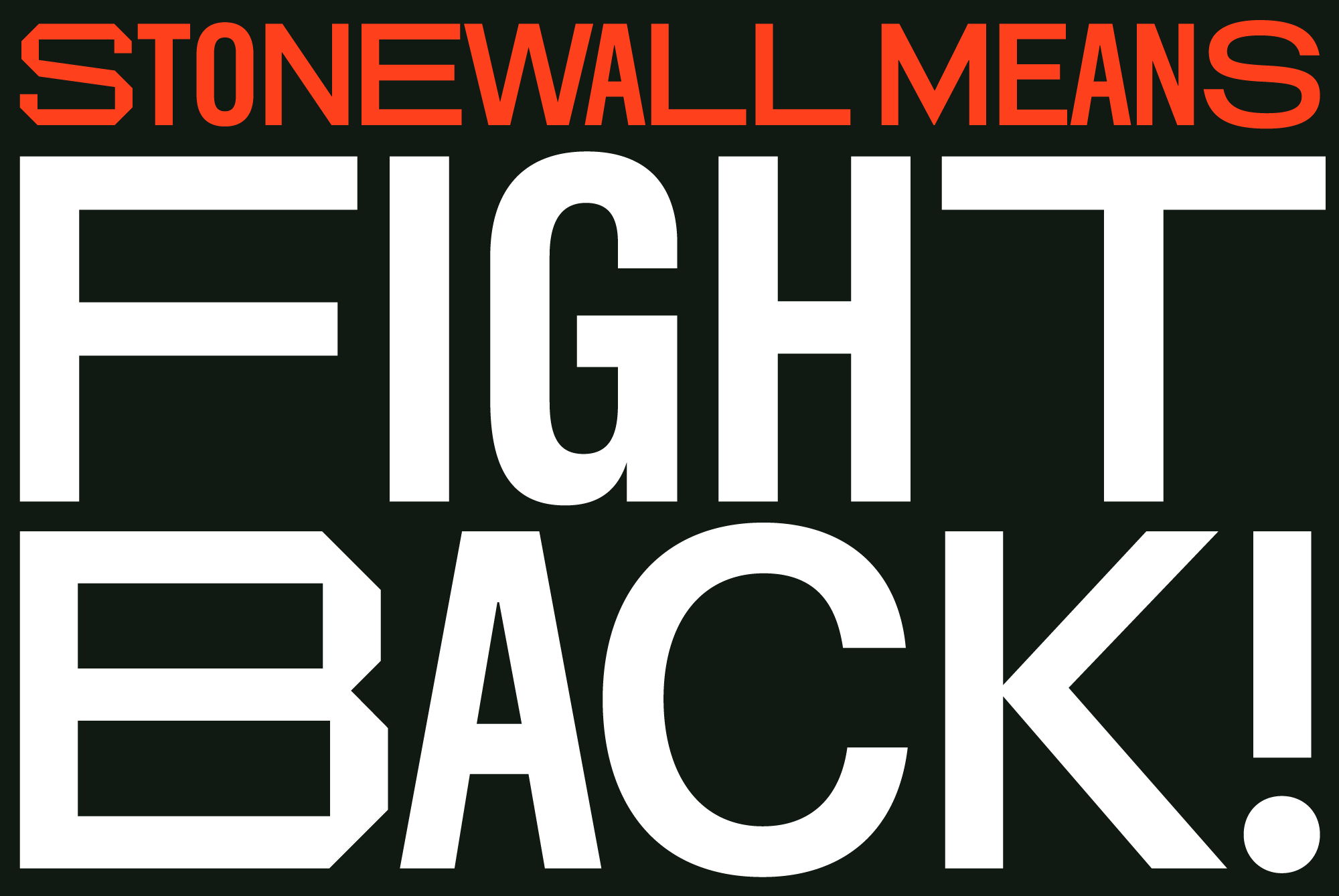 Cover image: Stonewall 50 Typeface