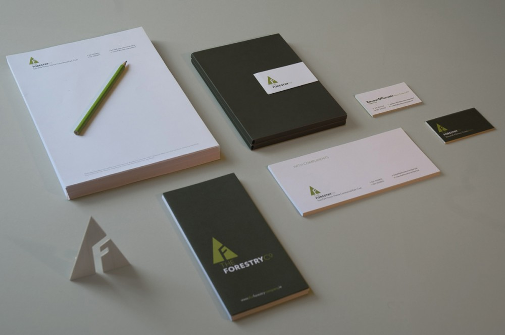 Cover image: The Forestry Company identity