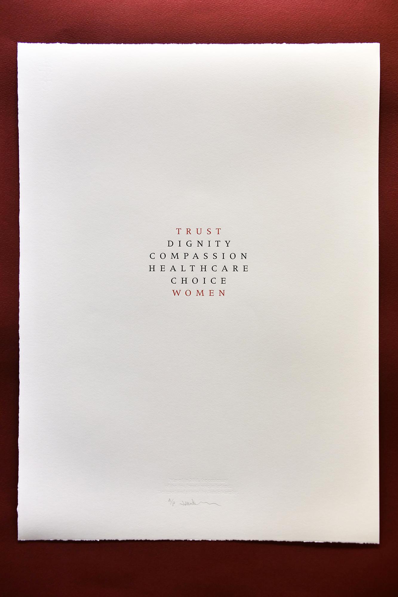 Cover image: Trust Women