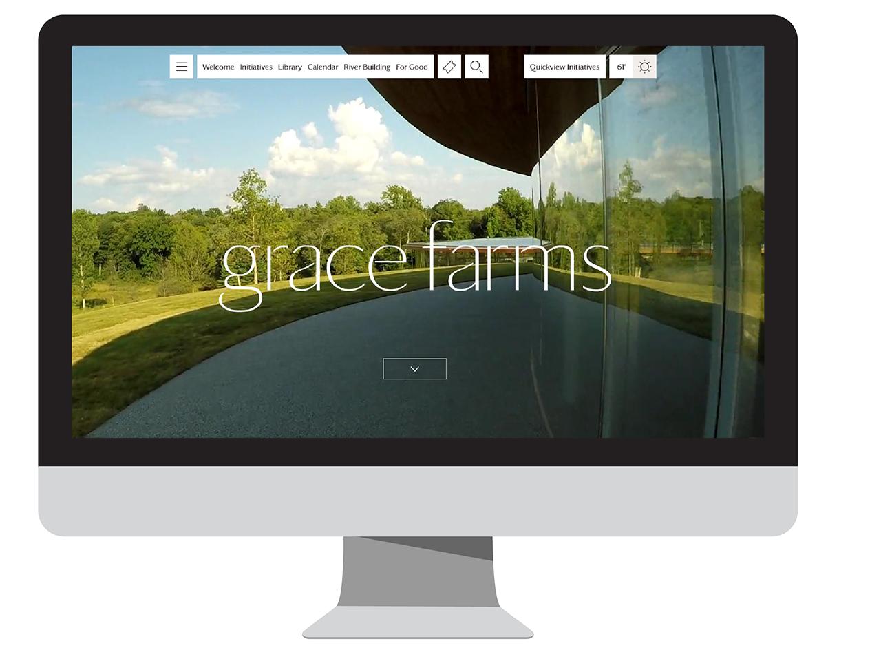Cover image: Grace Farms Website
