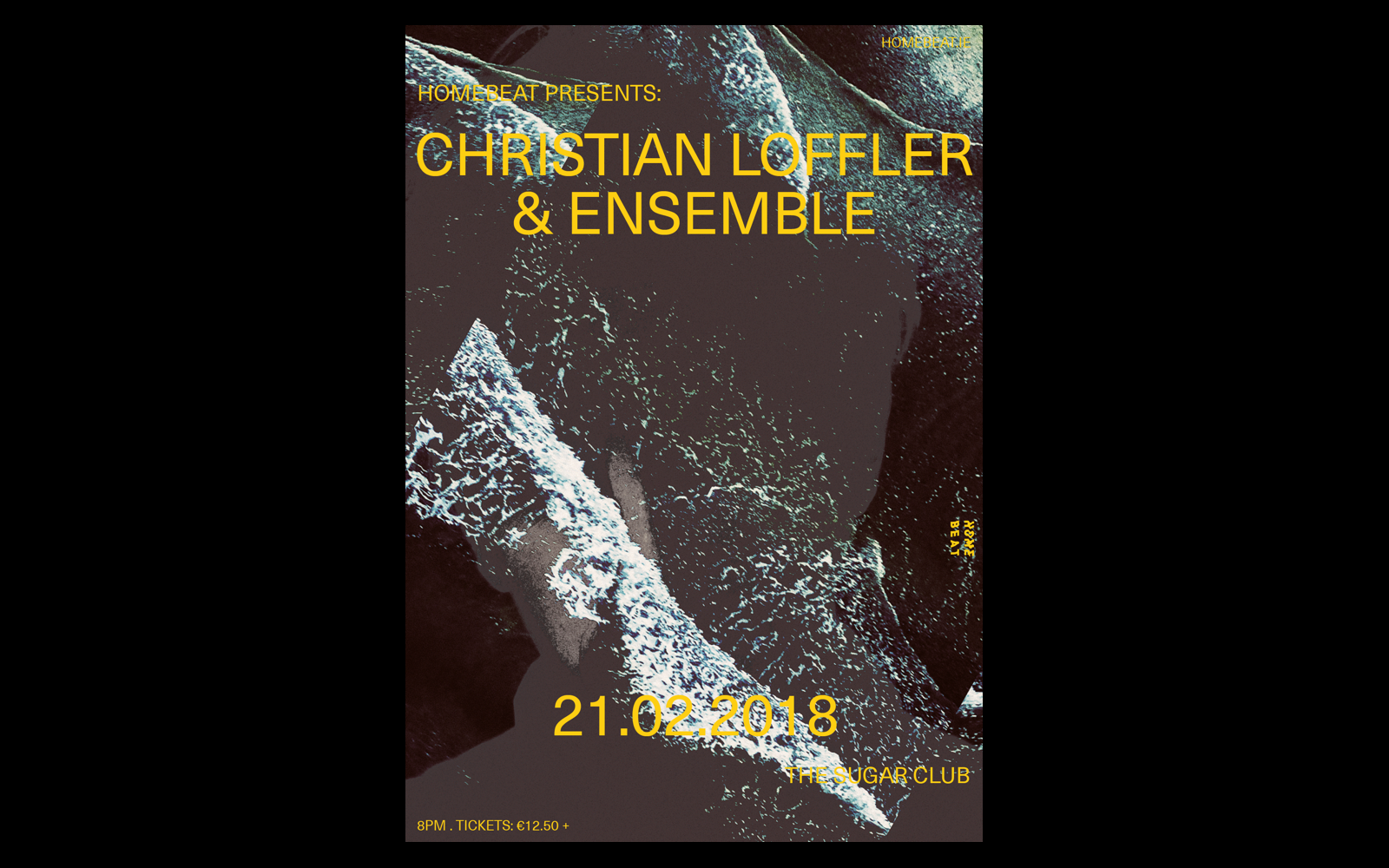 Cover image: Christian Loffler & Ensemble Poster