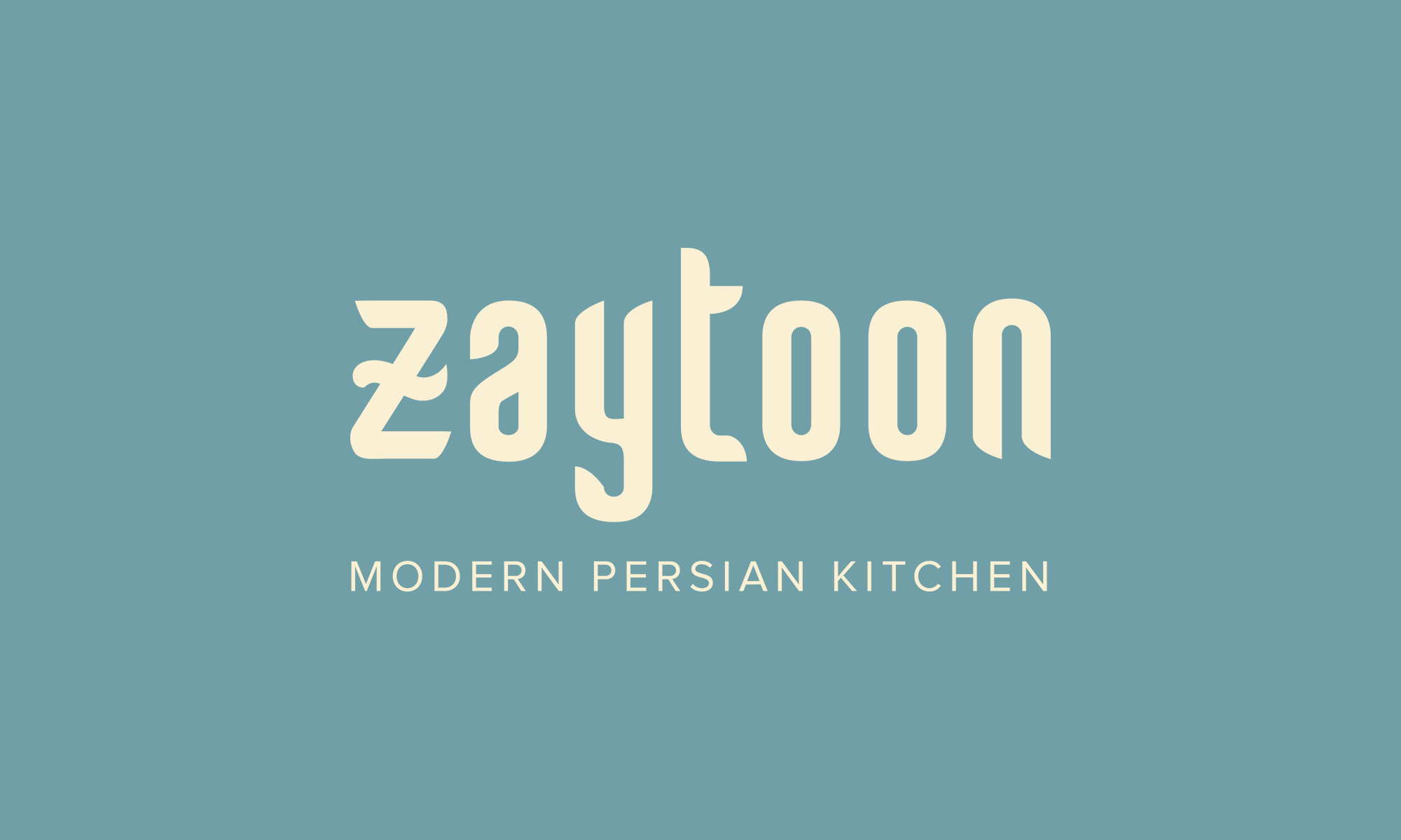 Cover image: ZAYTOON - Modern Persian Kitchen