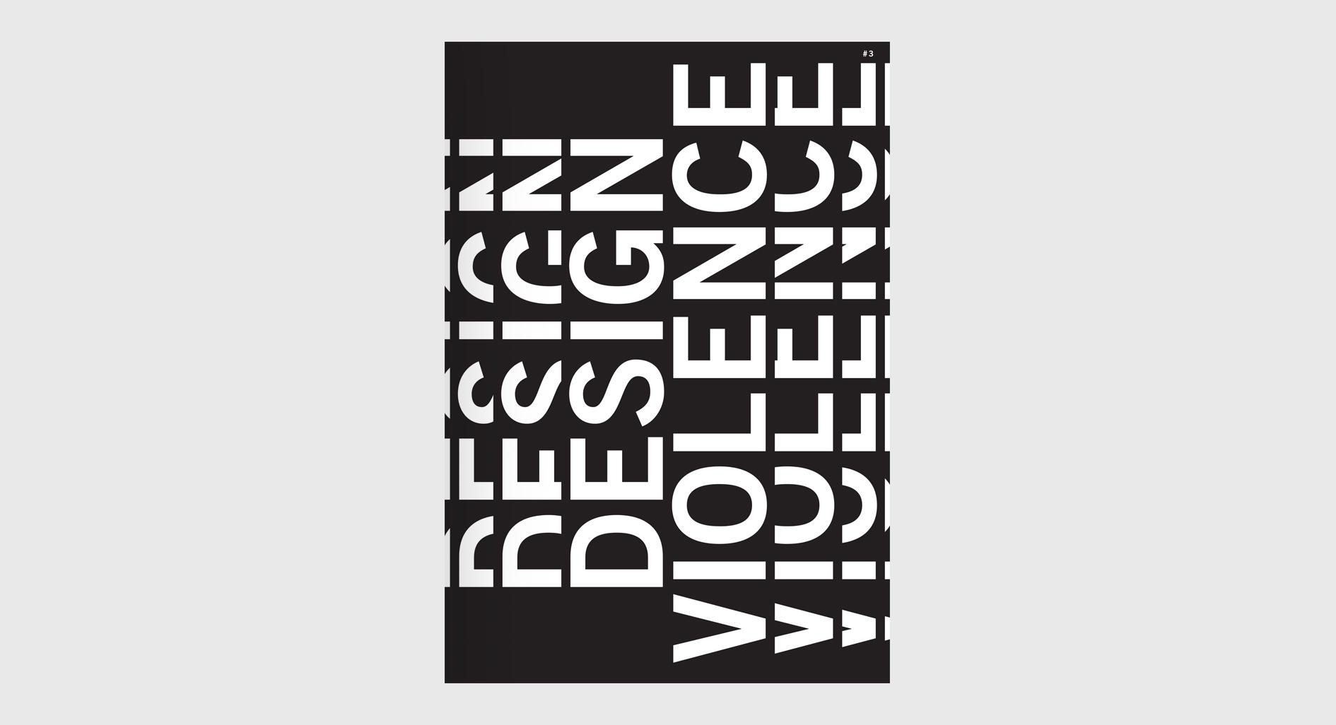 Cover image: DESIGN + VIOLENCE
