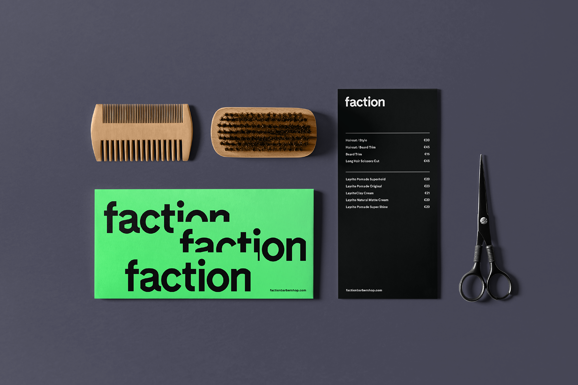 Cover image: Faction Barbershop
