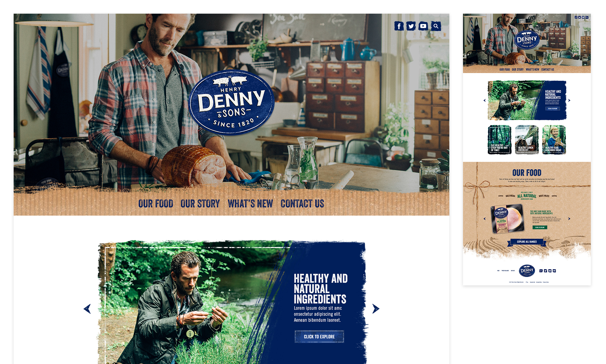 Cover image: Denny's Masterbrand Website