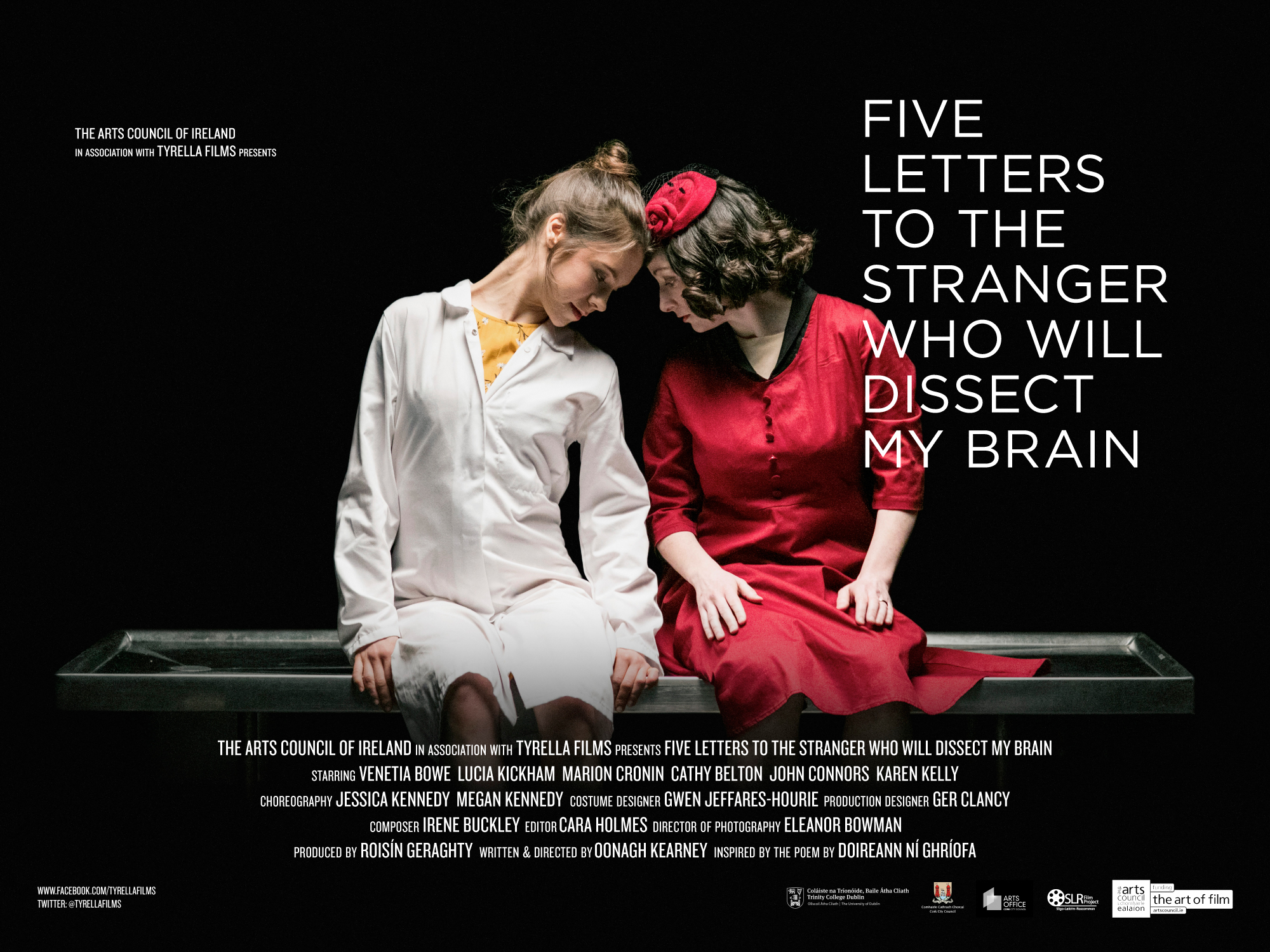 Cover image: Five Letters To The Stranger Who Will Dissect My Brain
