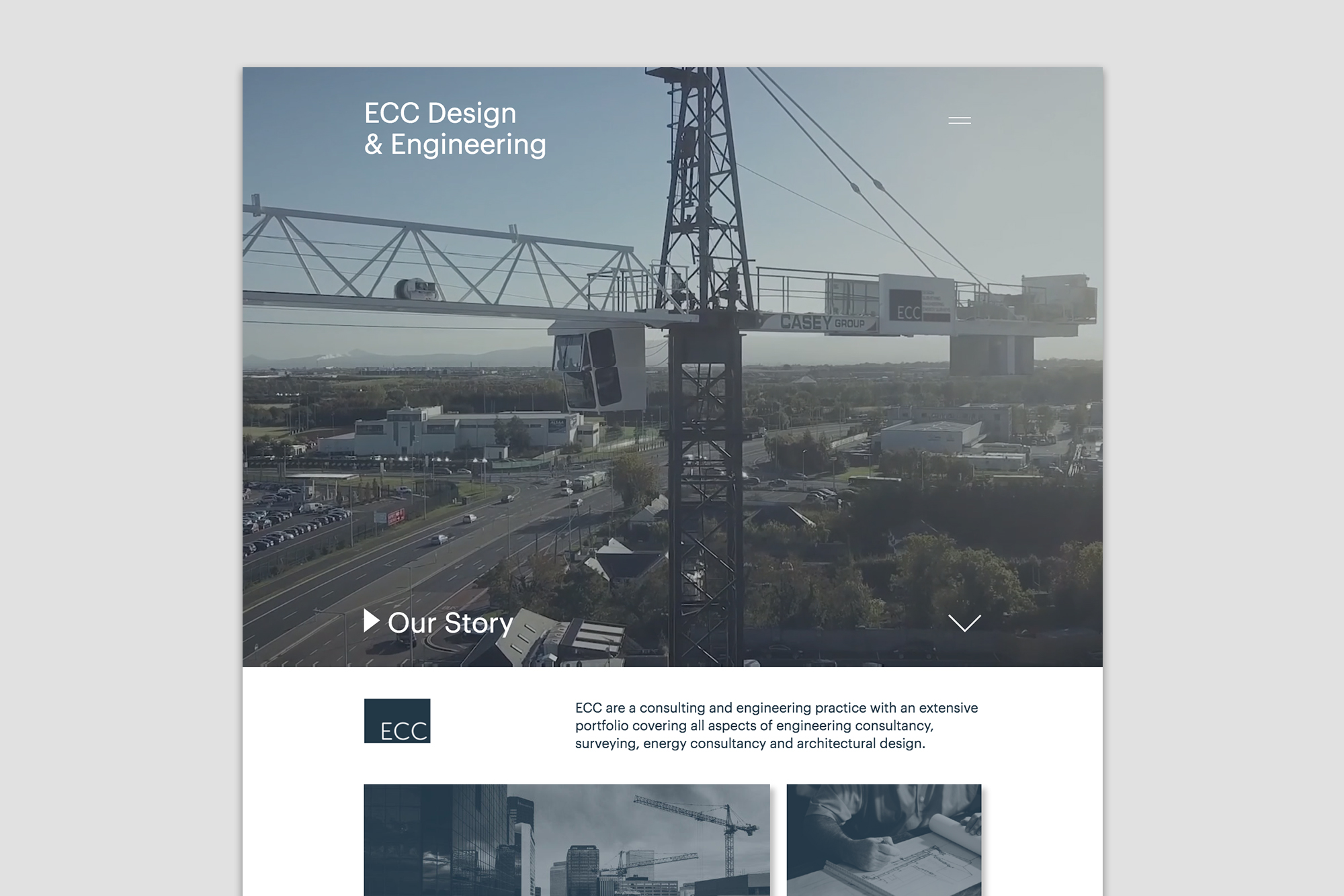 Cover image: ECC – Website