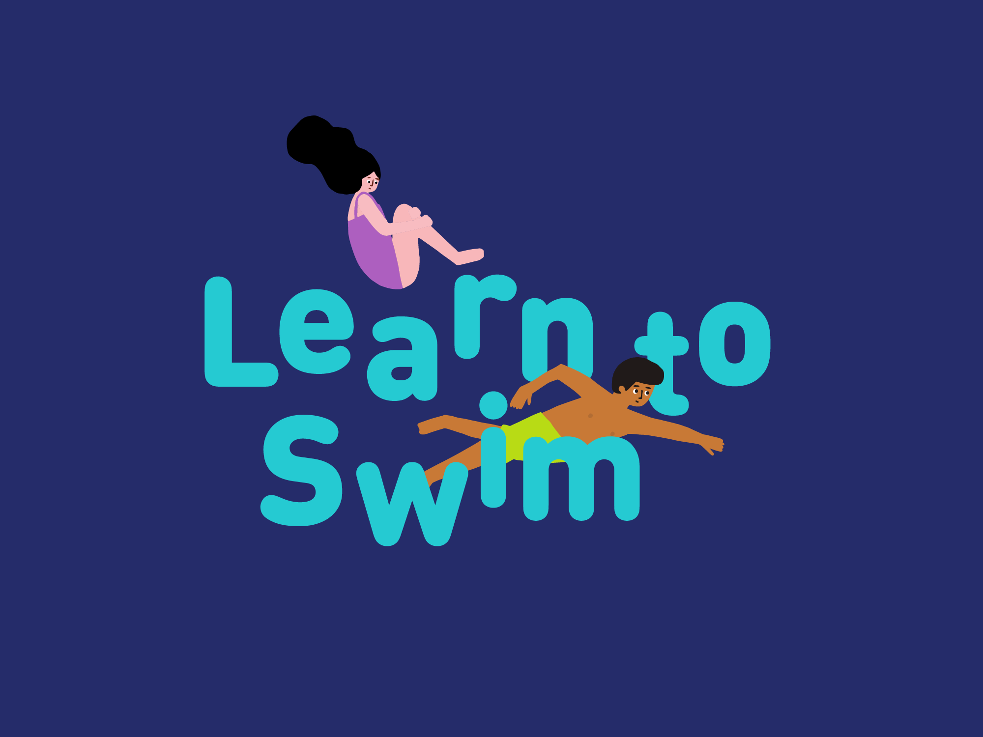 Cover image: Learn to Swim, Identity Campaign