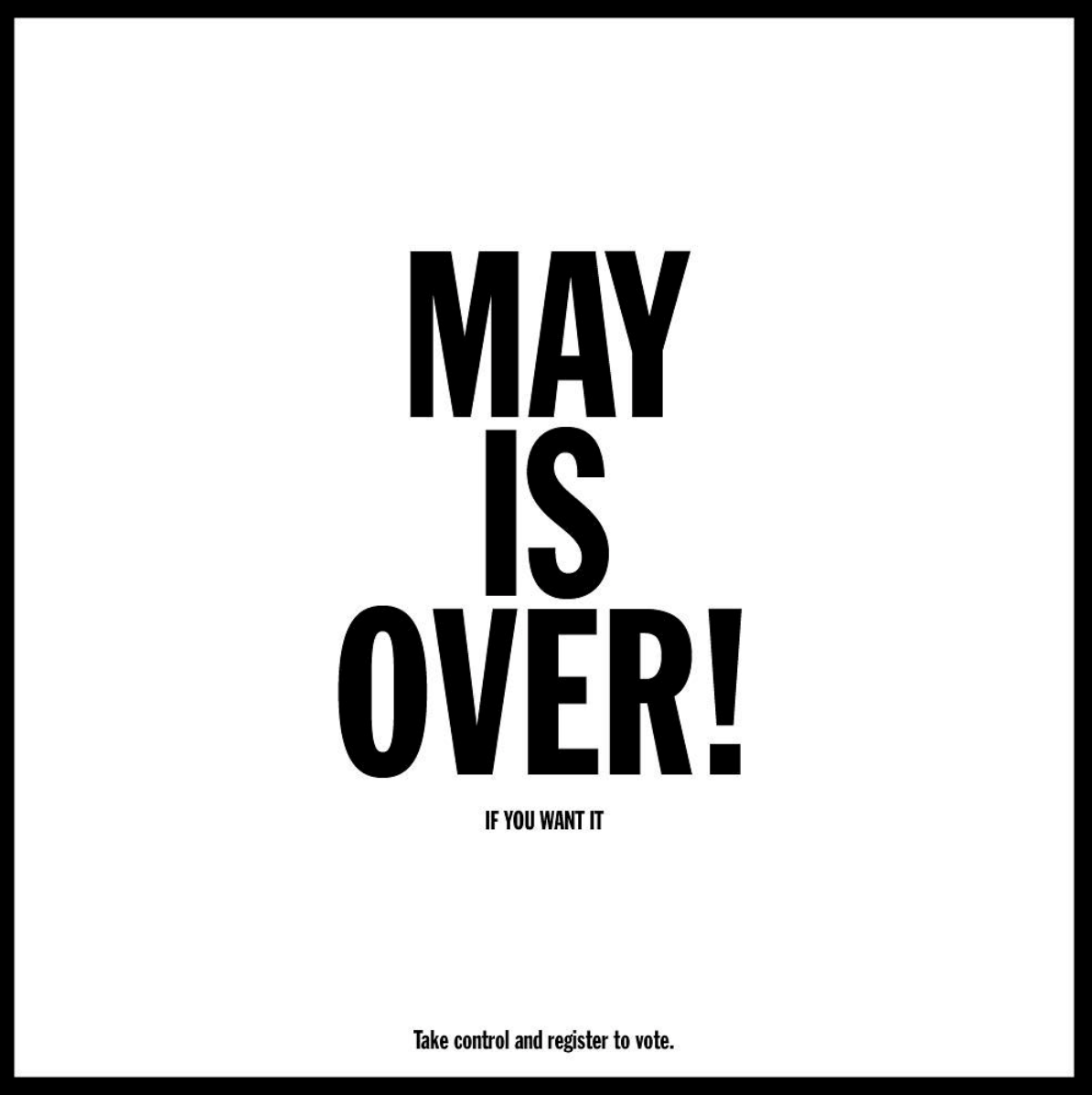 Cover image: May is Over!