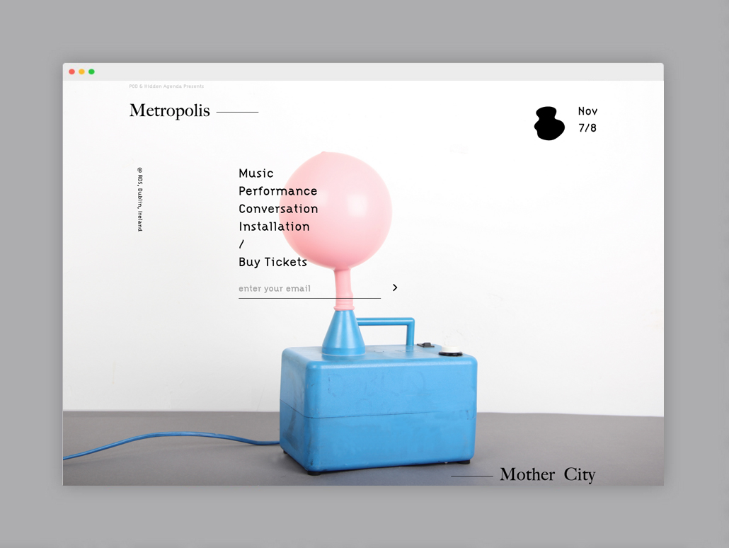 Cover image: Metropolis – Mother City (2015)
