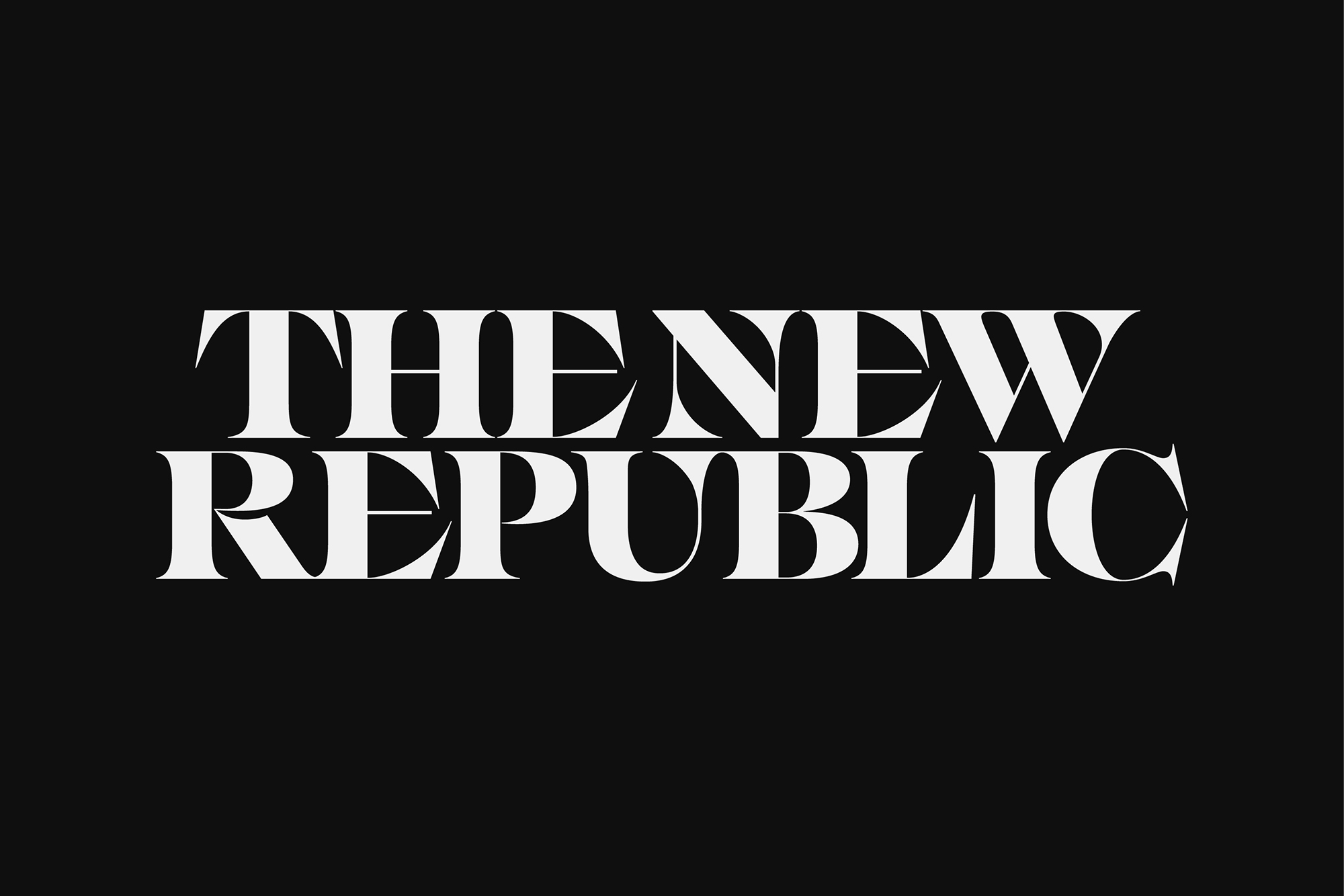 Cover image: The New Republic