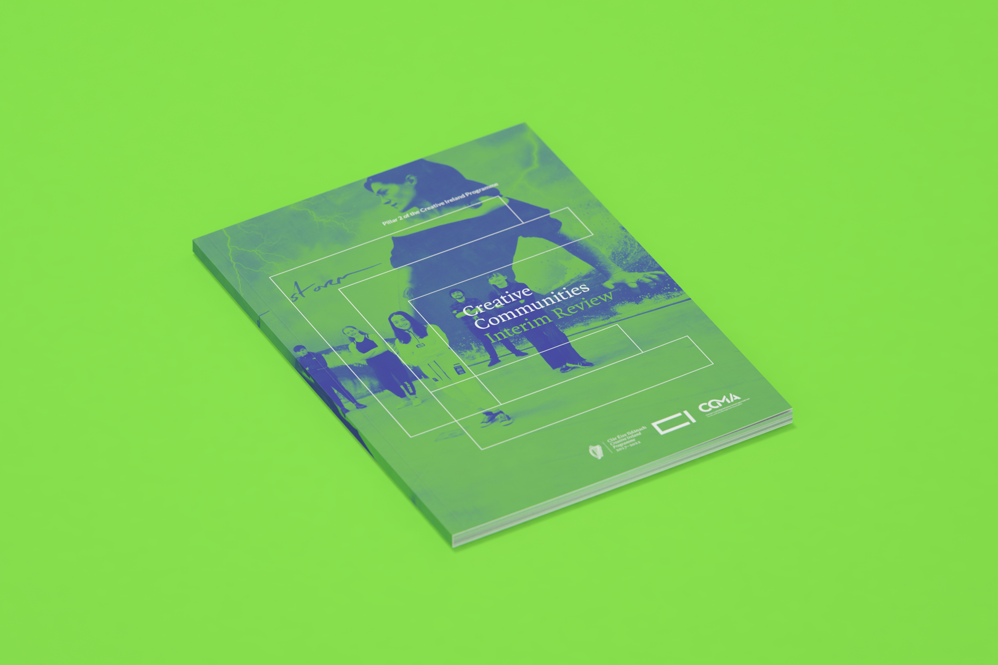 Cover image: Creative Ireland — Creative Communities Interim Review