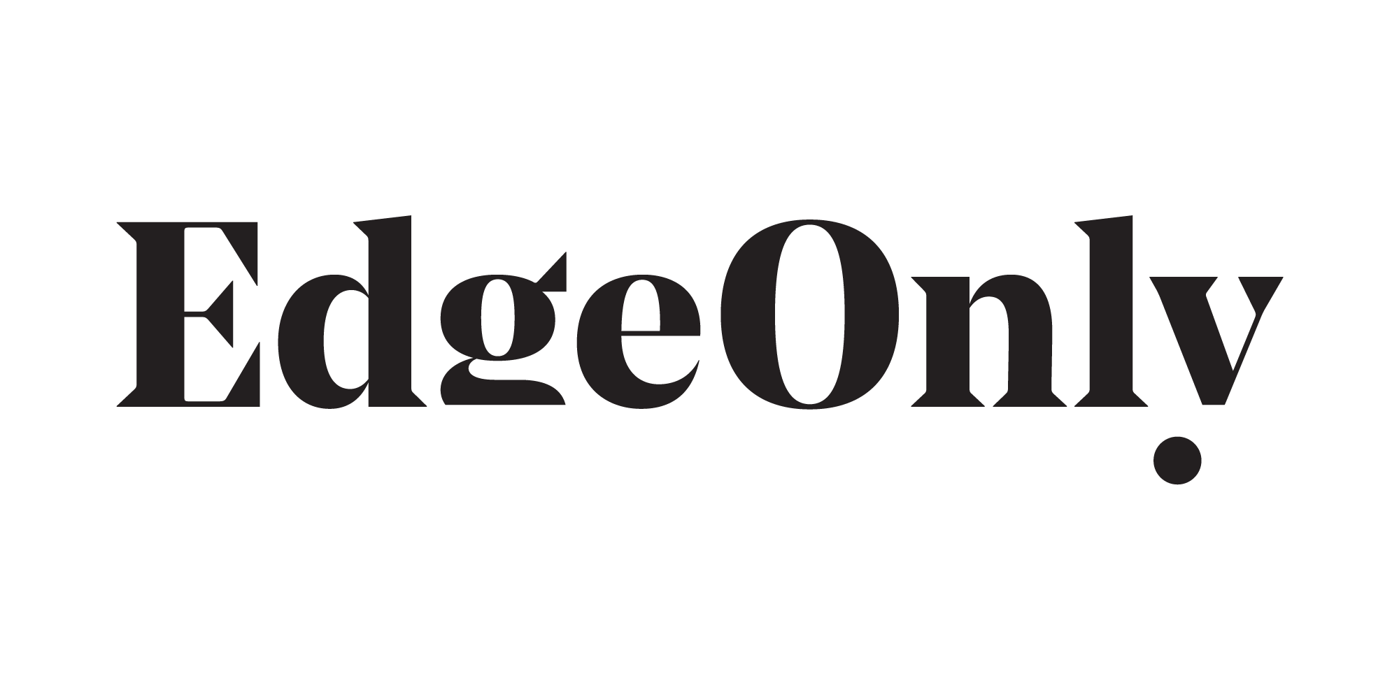 Cover image: Edge Only