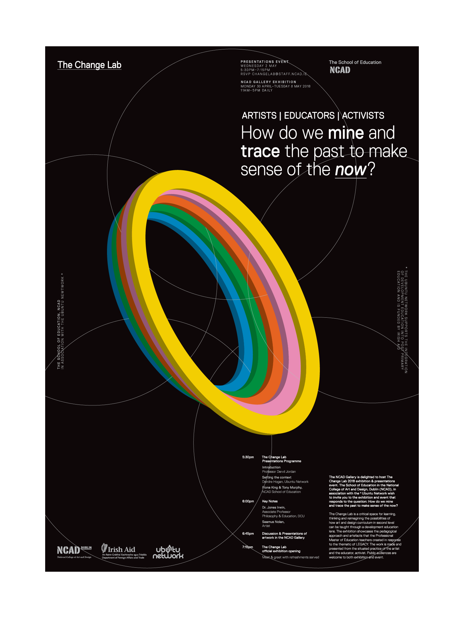 Cover image: NCAD – Change Lab Poster