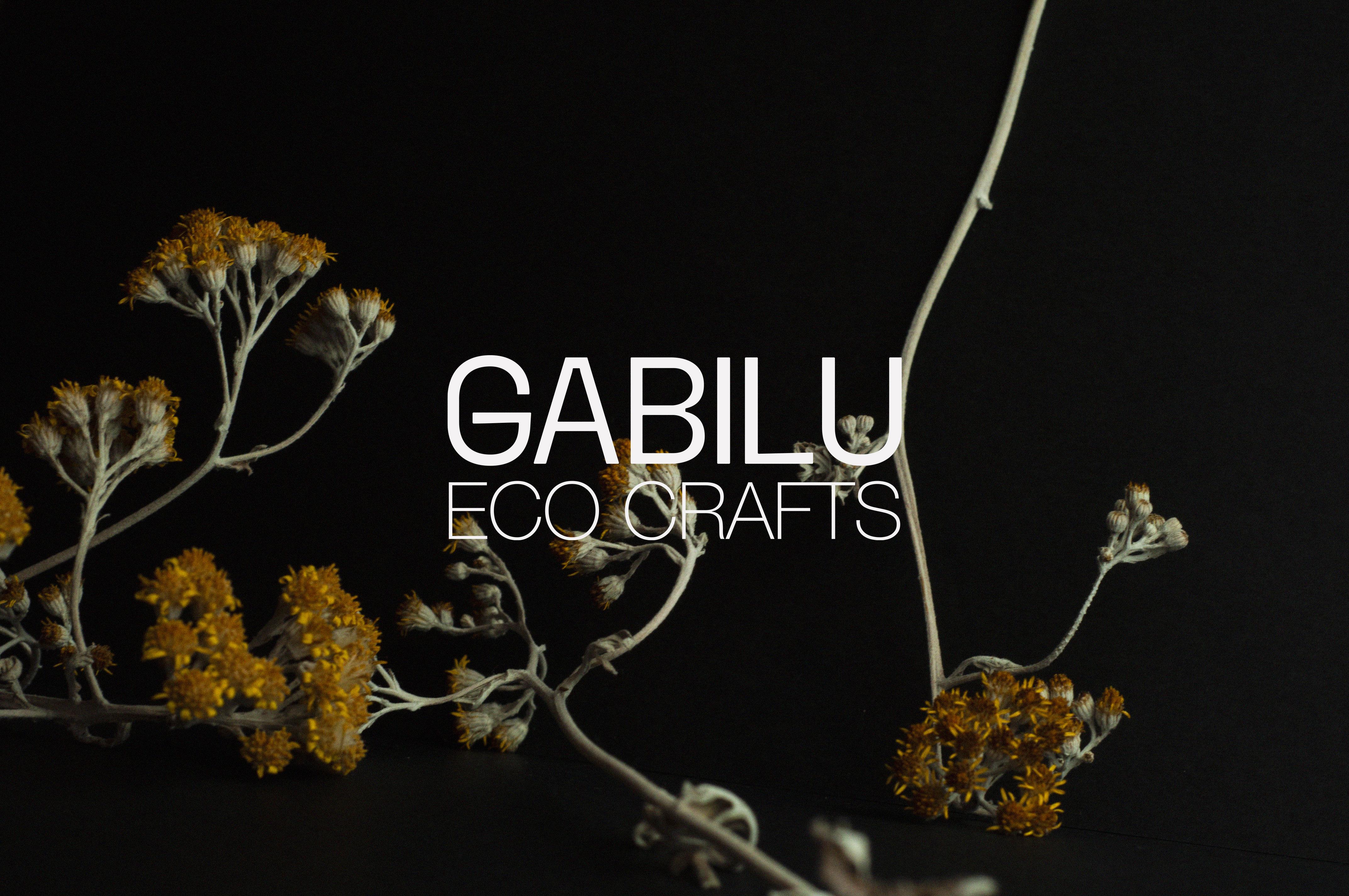Cover image: Gabilu Eco Crafts - Brand Identity