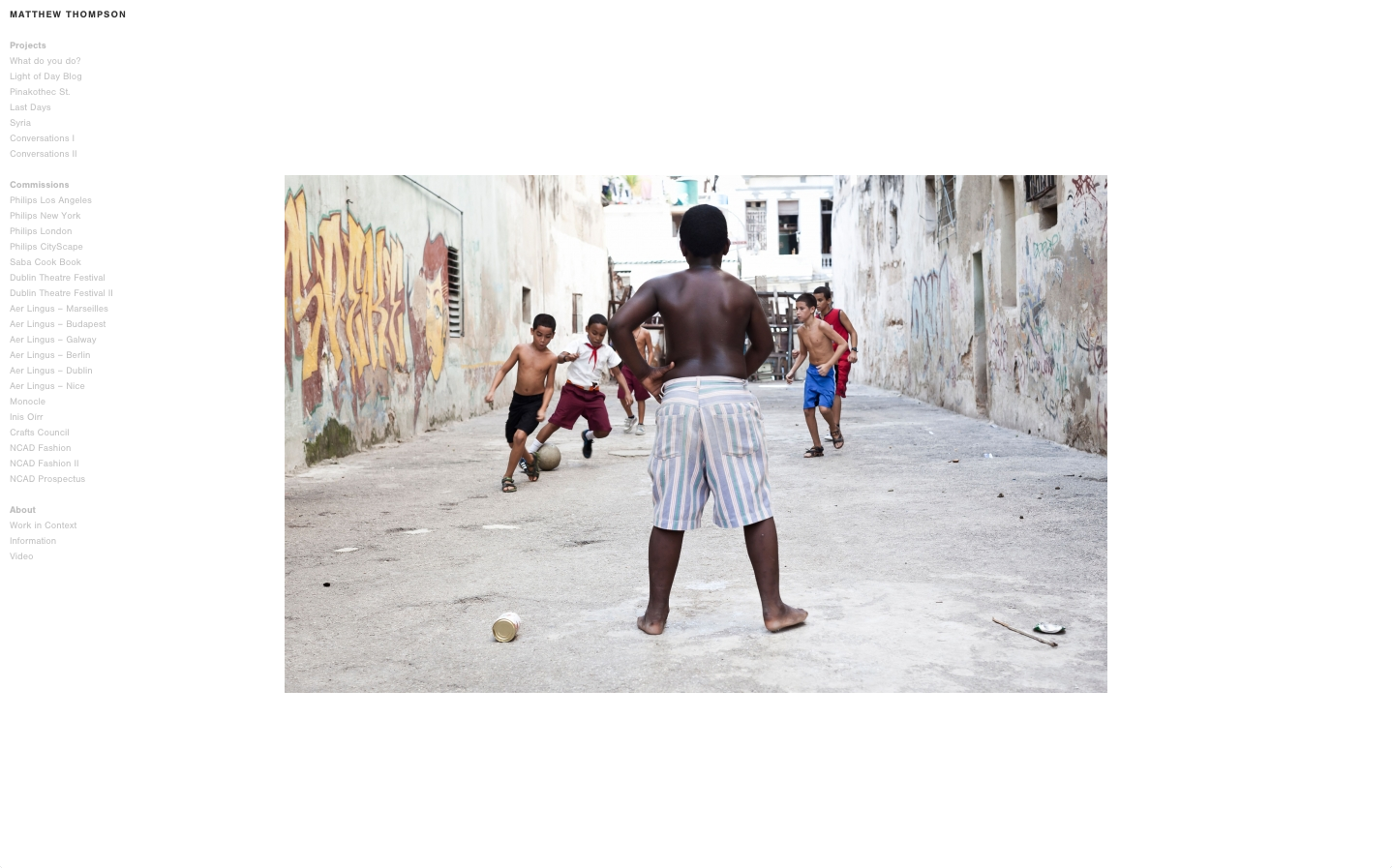 Cover image: Matthew Thompson Photography (2012)