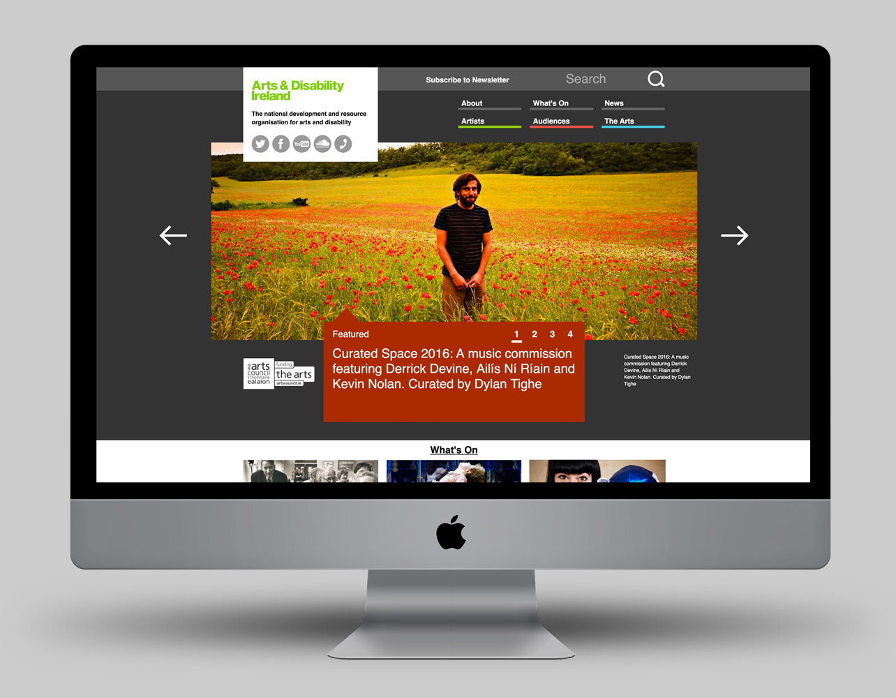Cover image: Arts & Disability Ireland website