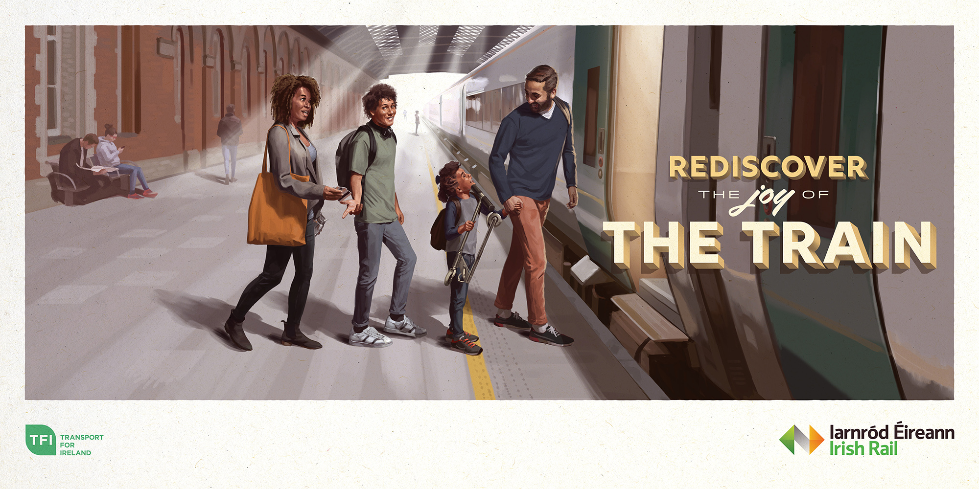 Cover image: Rediscover The Joy of The Train