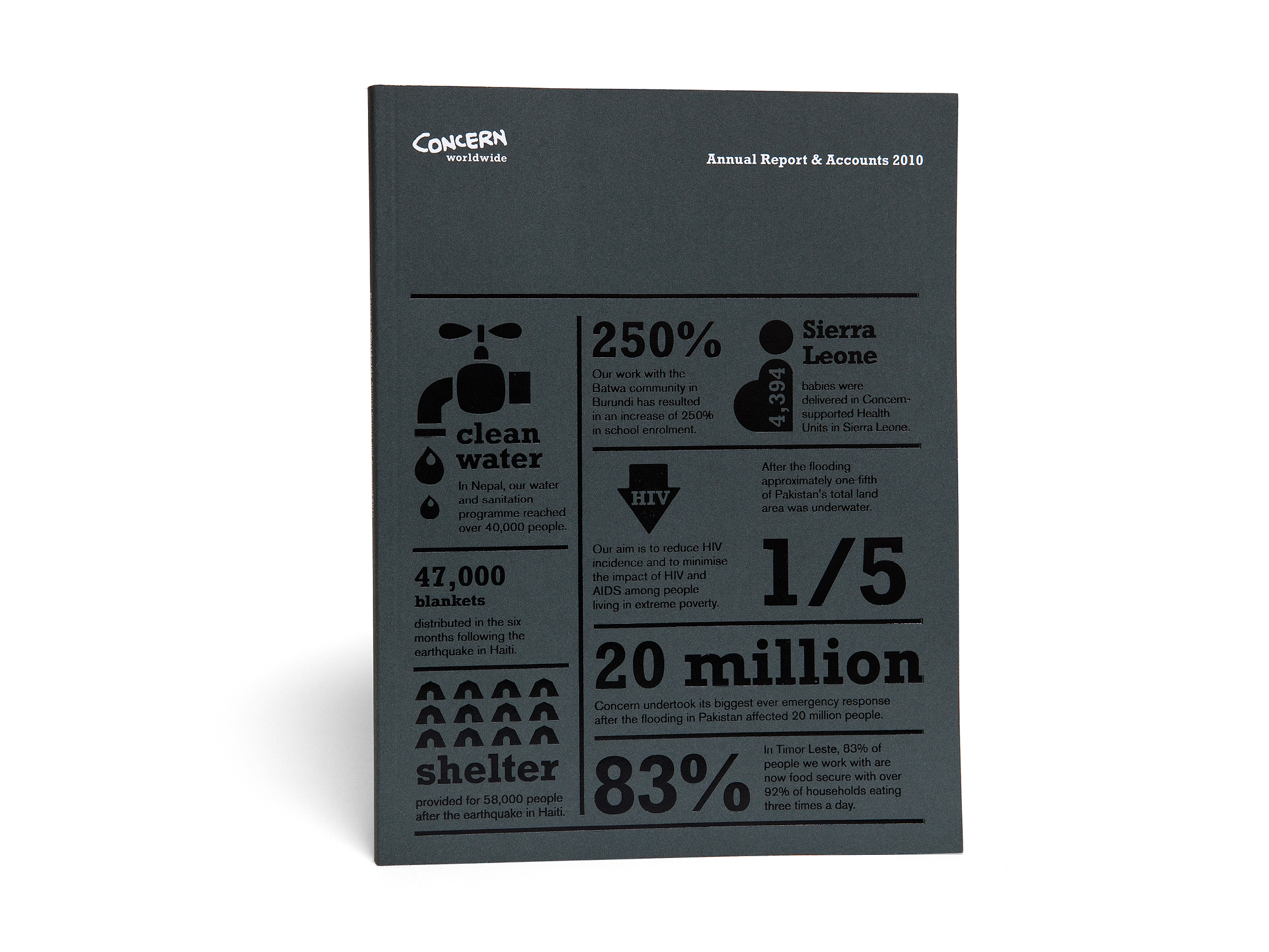 Cover image: Concern Worldwide Annual Report (2011)