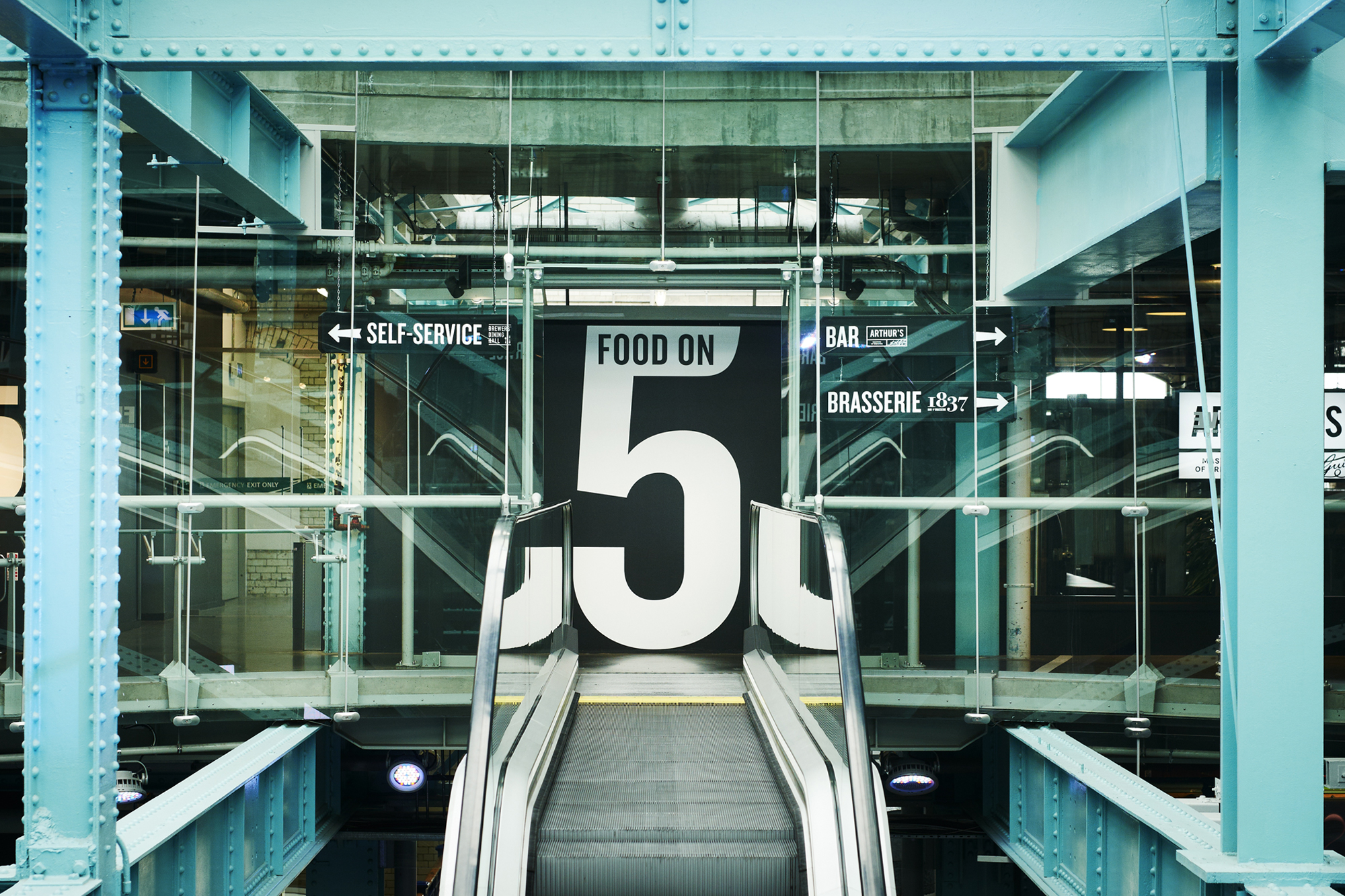 Cover image: Guinness Storehouse - Food on 5
