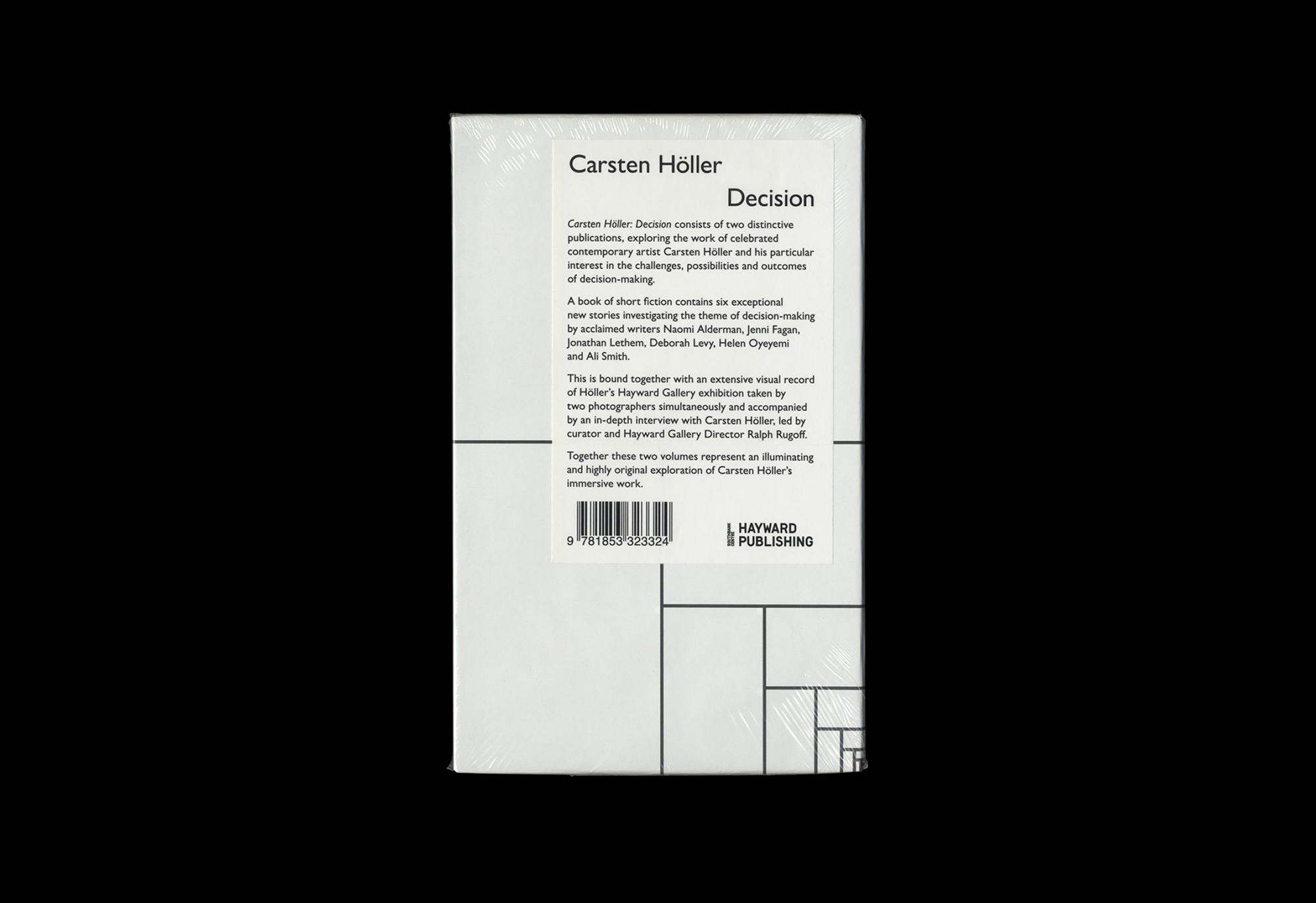 Cover image: Carsten Höller: Decision (2015)